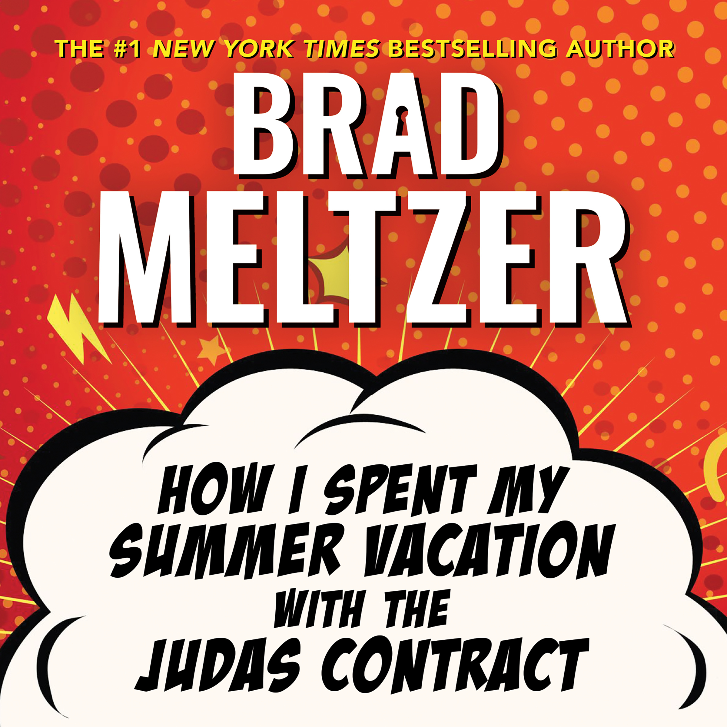 Printable How I Spent My Summer Vacation with the Judas Contract Audiobook Cover Art