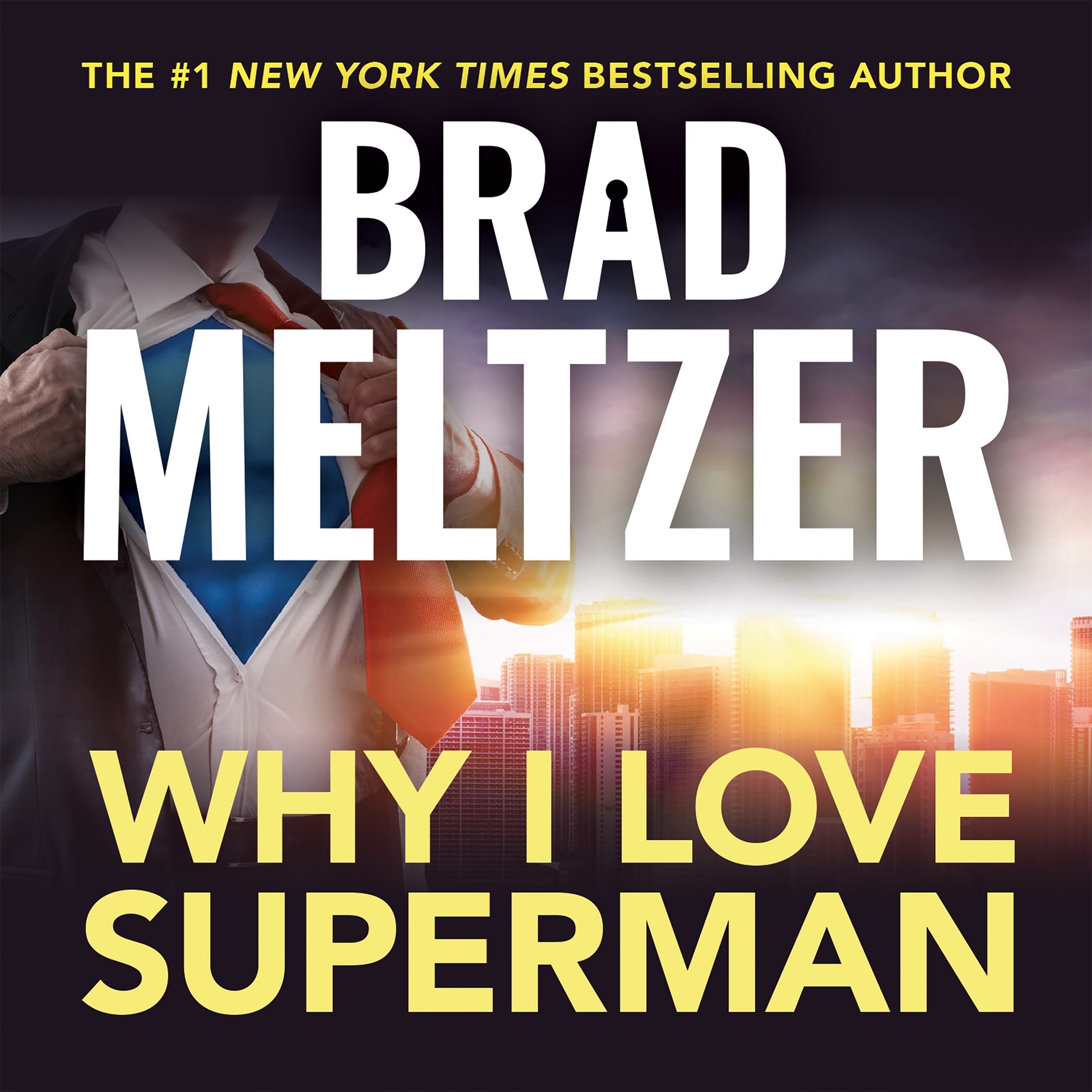Printable Why I Love Superman Audiobook Cover Art