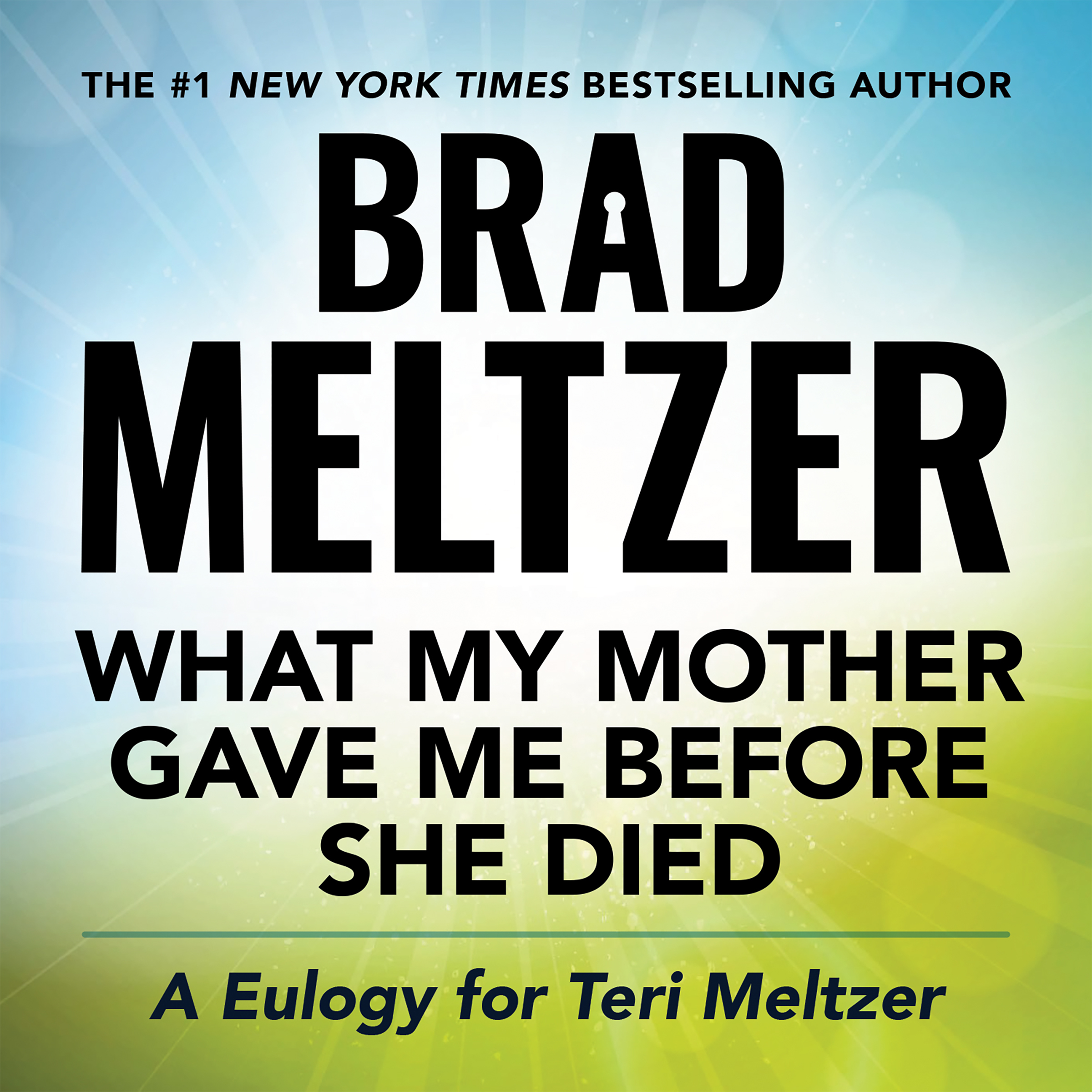 Printable What My Mother Gave Me Before She Died: A Eulogy for Teri Meltzer Audiobook Cover Art