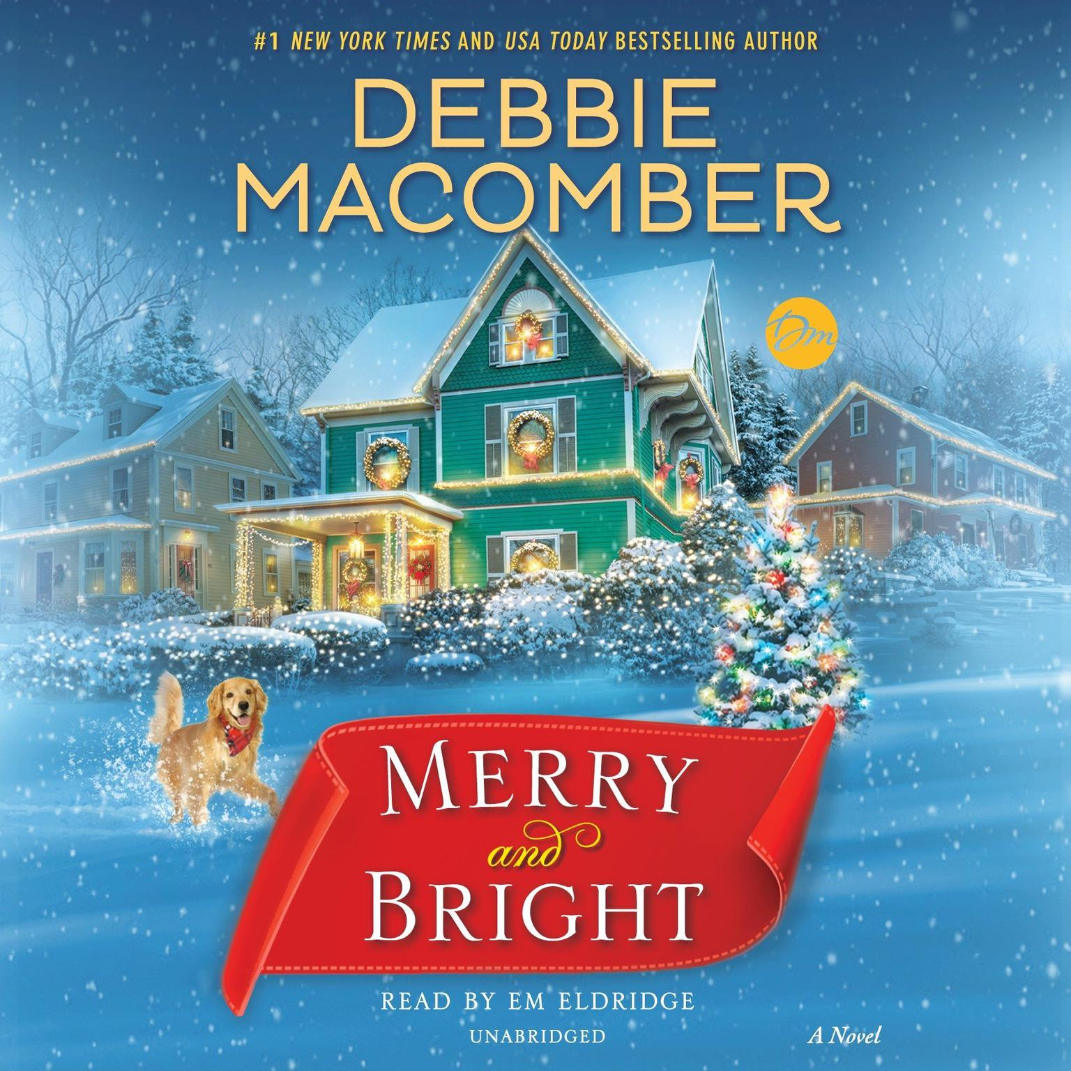 Printable Merry and Bright: A Novel Audiobook Cover Art