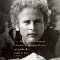 What Is It All but Luminous: Notes from an Underground Man Audiobook, by Art Garfunkel