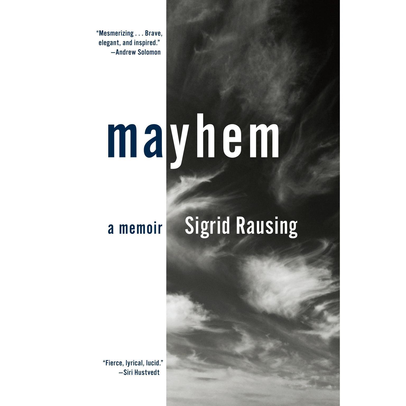 Printable Mayhem: A Memoir Audiobook Cover Art