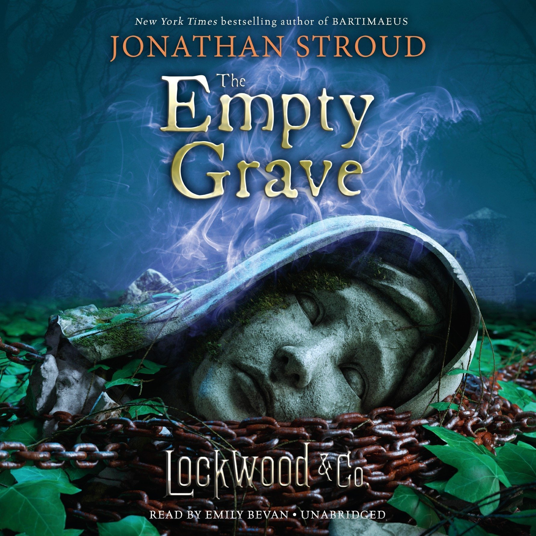 Printable Lockwood & Co., Book Five The Empty Grave Audiobook Cover Art