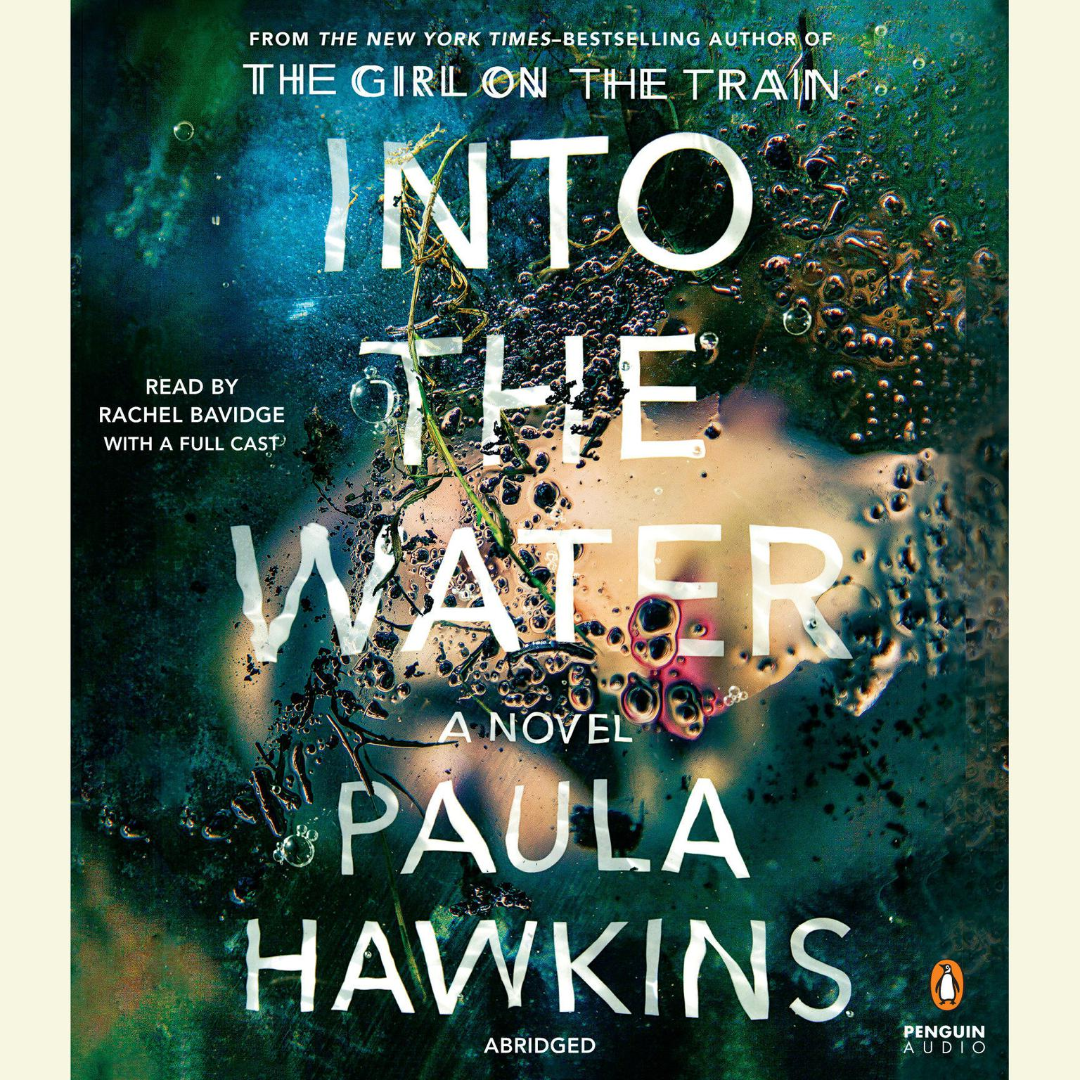 Printable Into the Water: A Novel Audiobook Cover Art