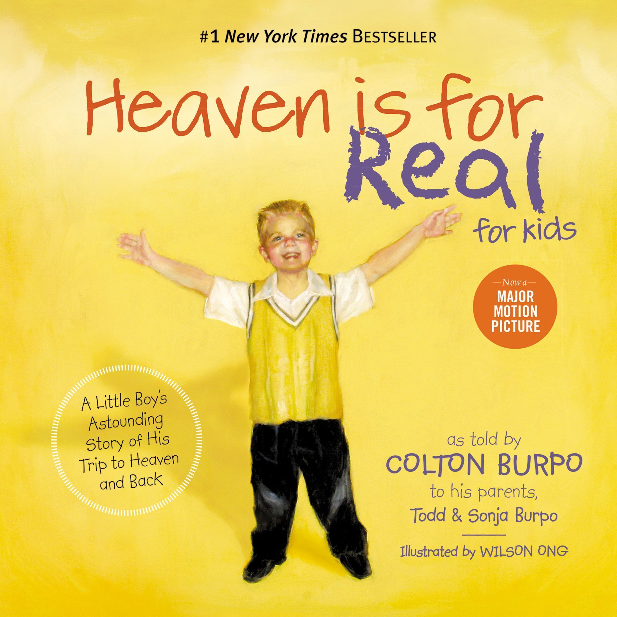 Printable Heaven is for Real for Kids: A Little Boy's Astounding Story of His Trip to Heaven and Back Audiobook Cover Art