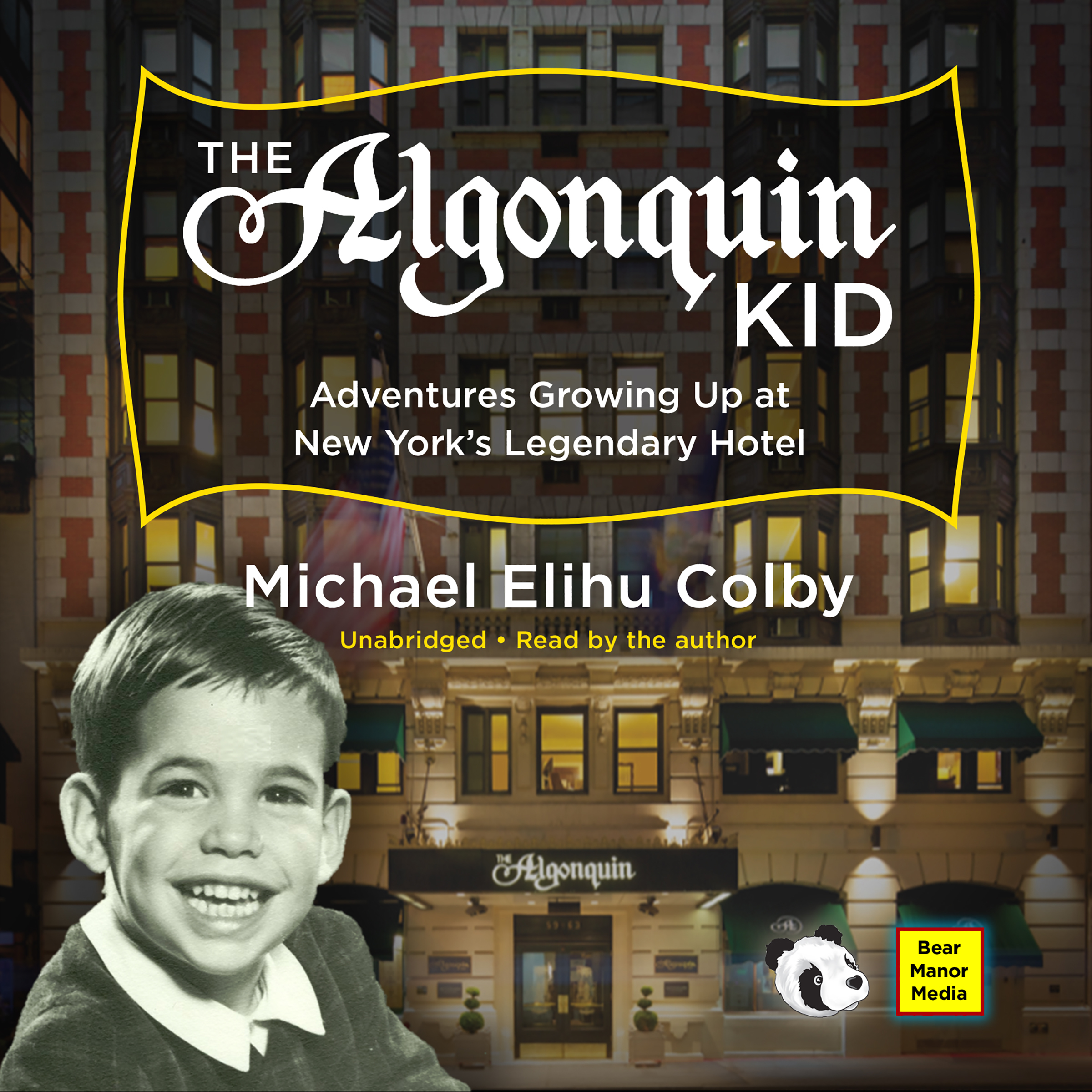 Printable The Algonquin Kid: Adventures Growing Up at New York's Legendary Hotel  Audiobook Cover Art