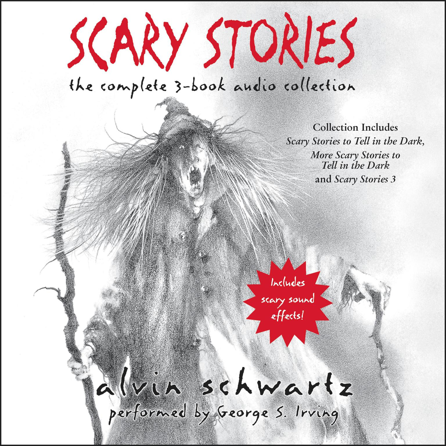Printable Scary Stories Audio Collection Audiobook Cover Art