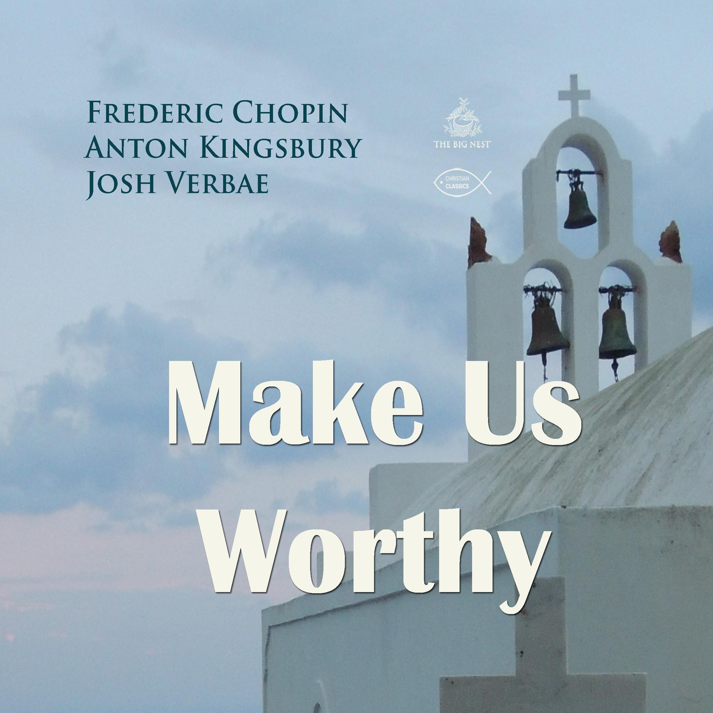 Printable Make Us Worthy Audiobook Cover Art