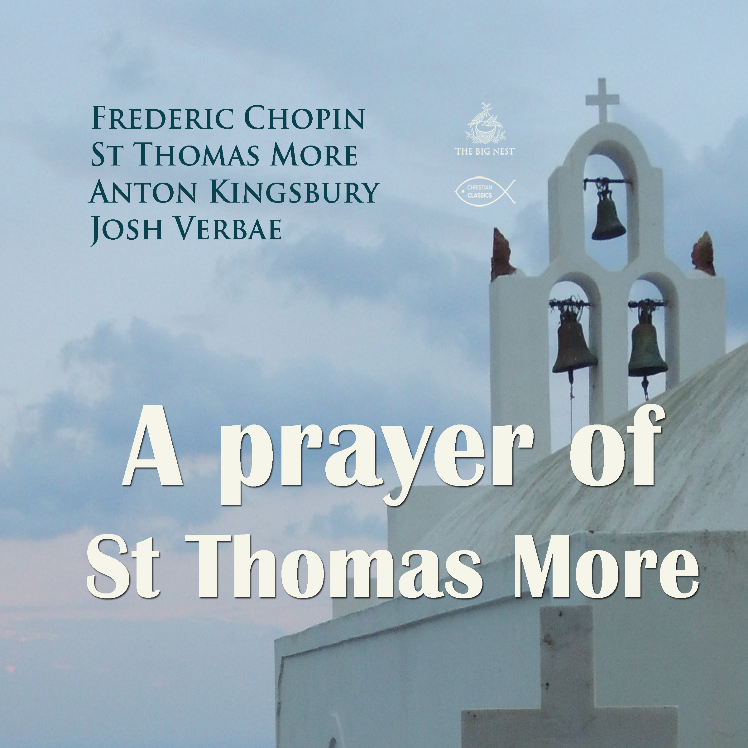 Printable A Prayer of St Thomas More Audiobook Cover Art