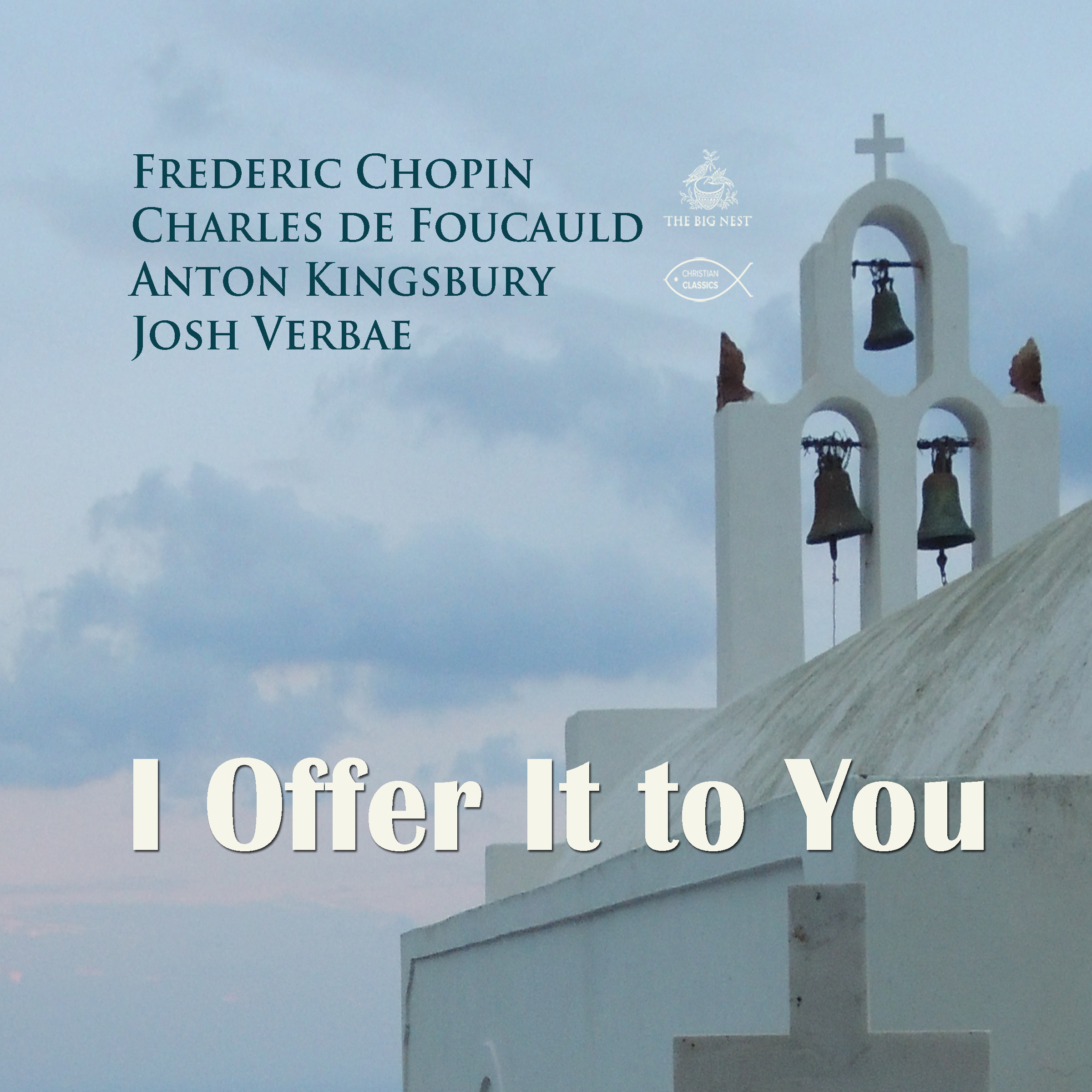 Printable I Offer It to You Audiobook Cover Art