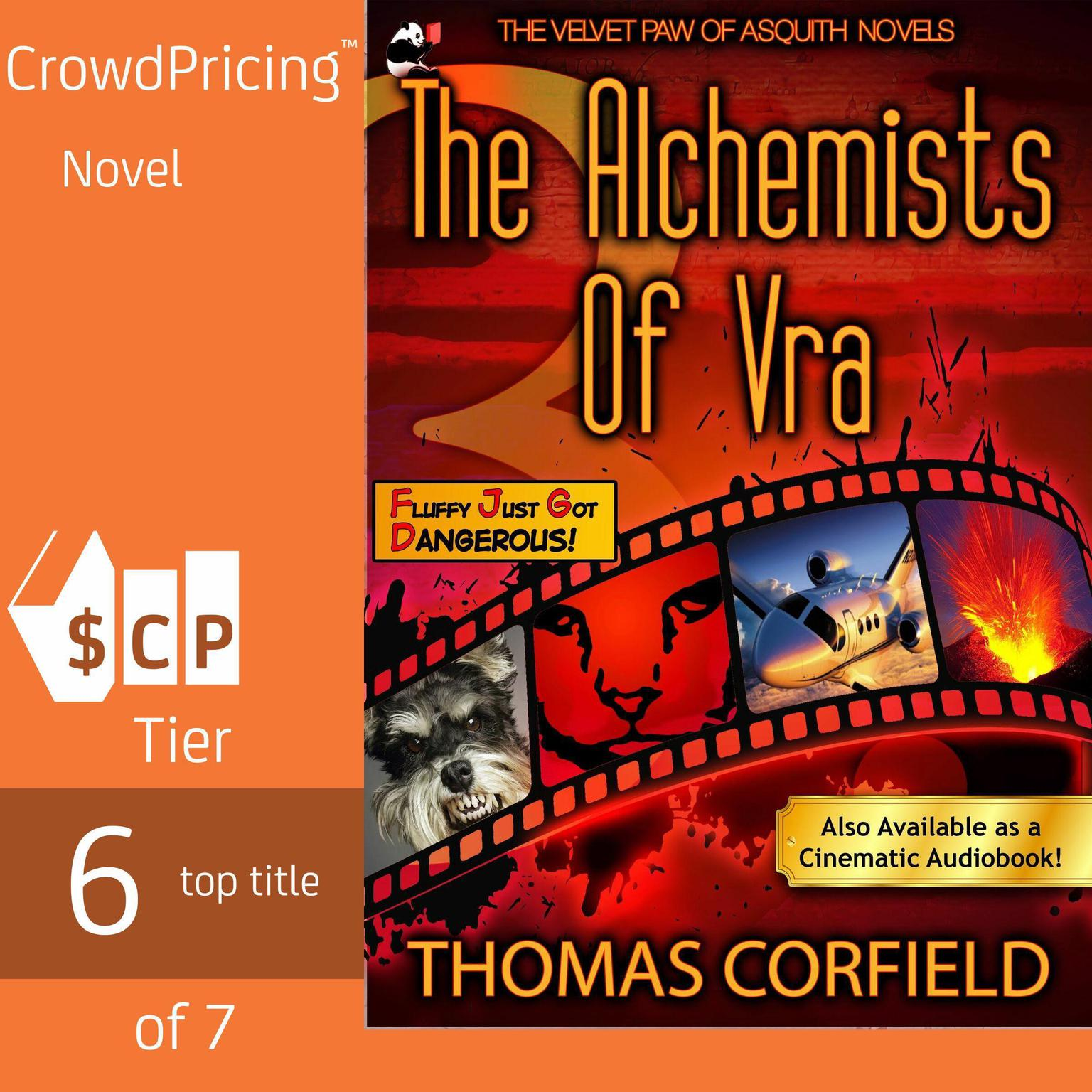 Printable The Alchemists Of Vra Audiobook Cover Art