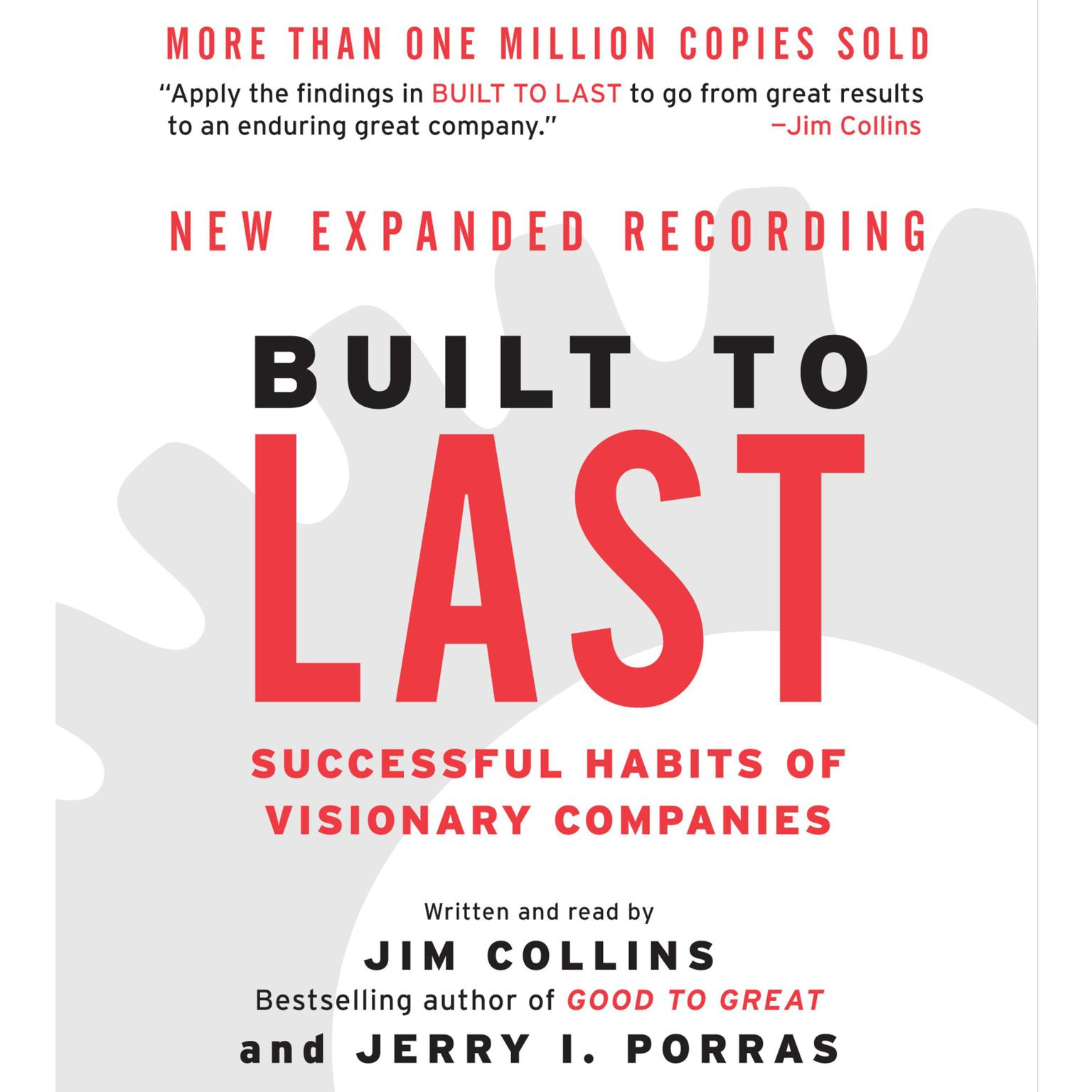Printable Built to Last (Abridged): Successful Habits of Visionary Companies Audiobook Cover Art
