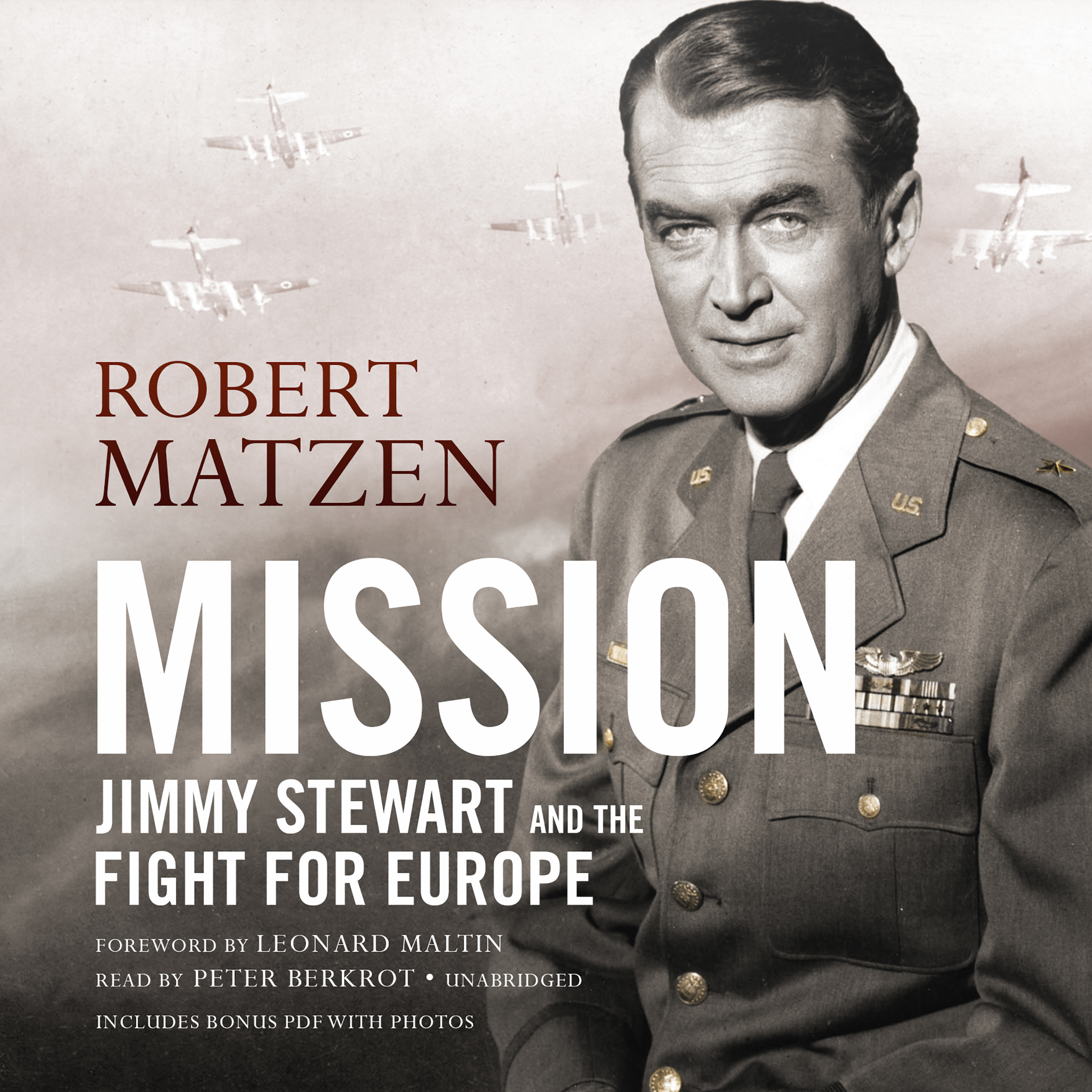 Printable Mission: Jimmy Stewart and the Fight for Europe Audiobook Cover Art