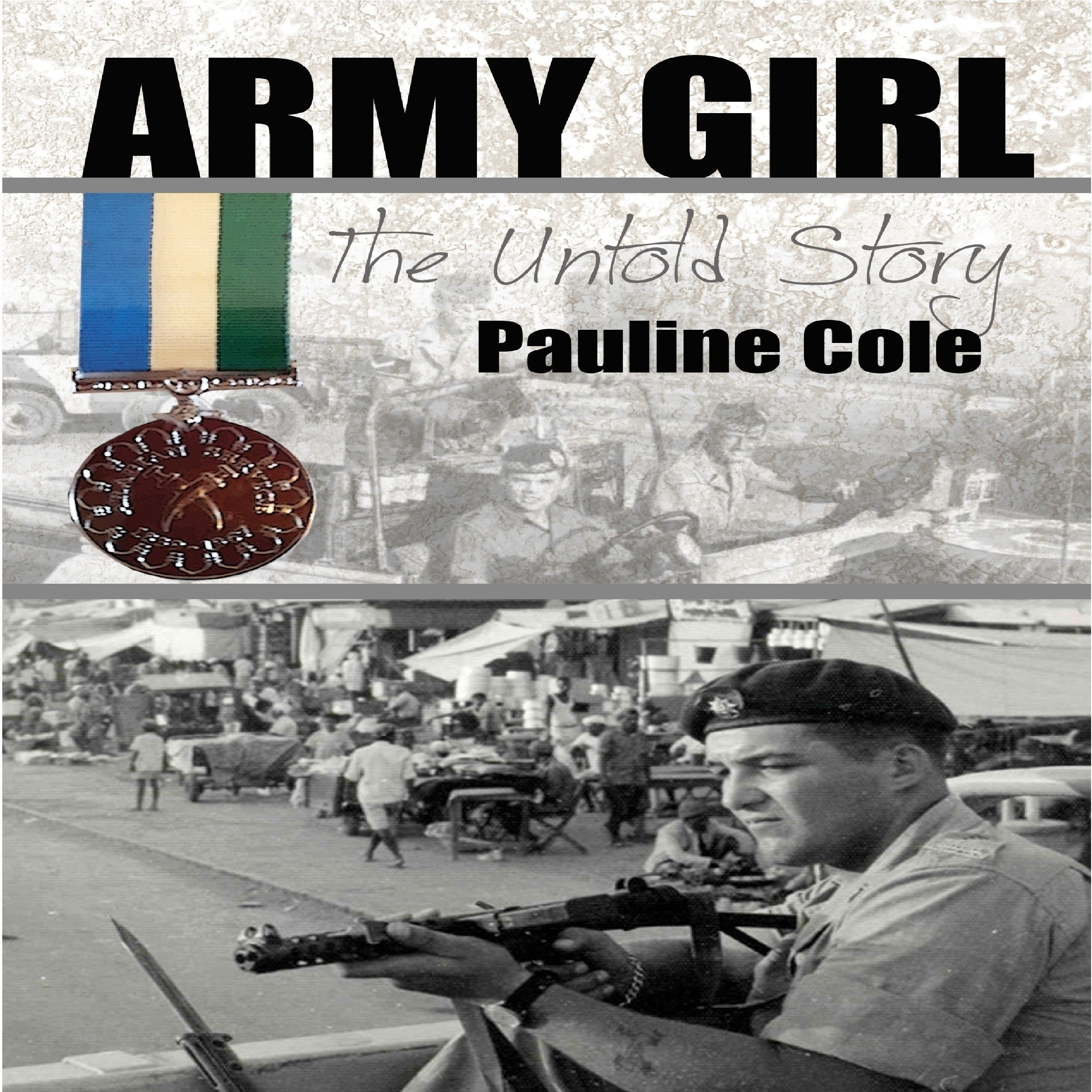 Printable Army Girl: The Untold Story Audiobook Cover Art