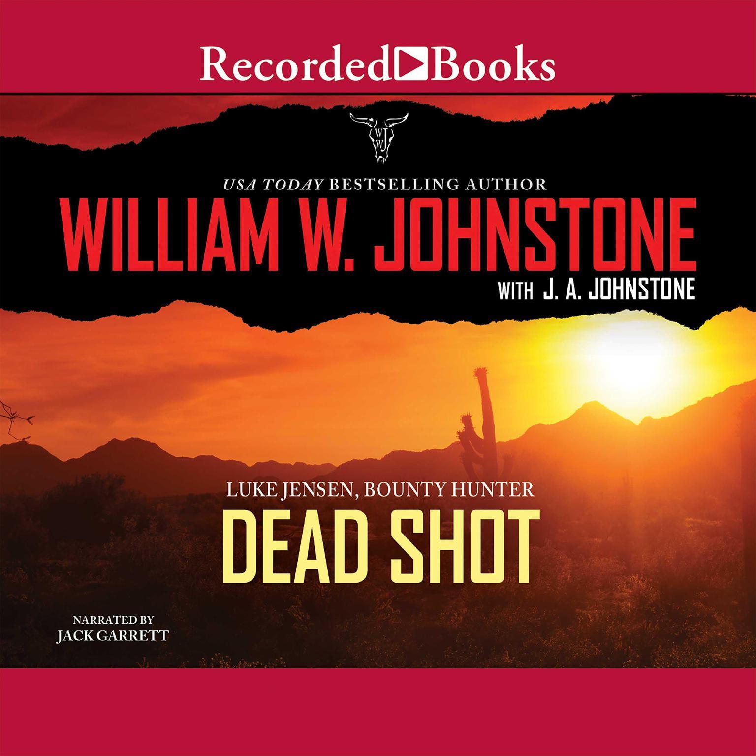 Printable Dead Shot Audiobook Cover Art