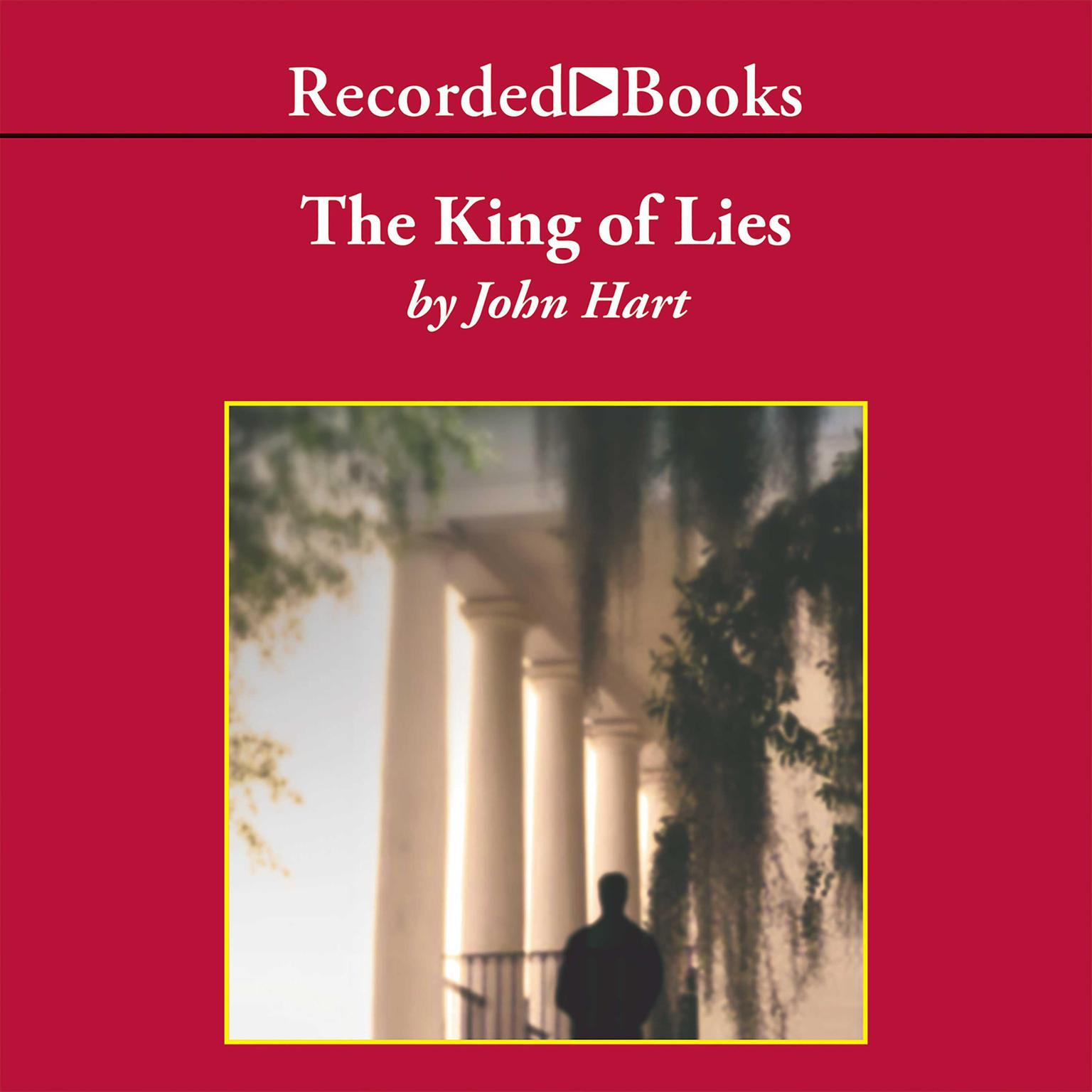Printable The King of Lies Audiobook Cover Art