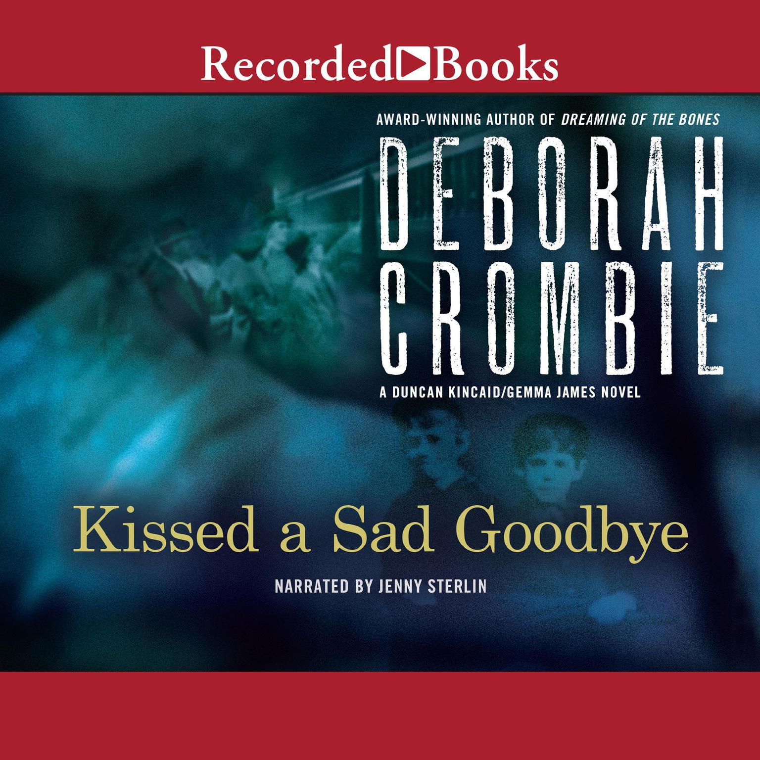 Printable Kissed a Sad Goodbye Audiobook Cover Art