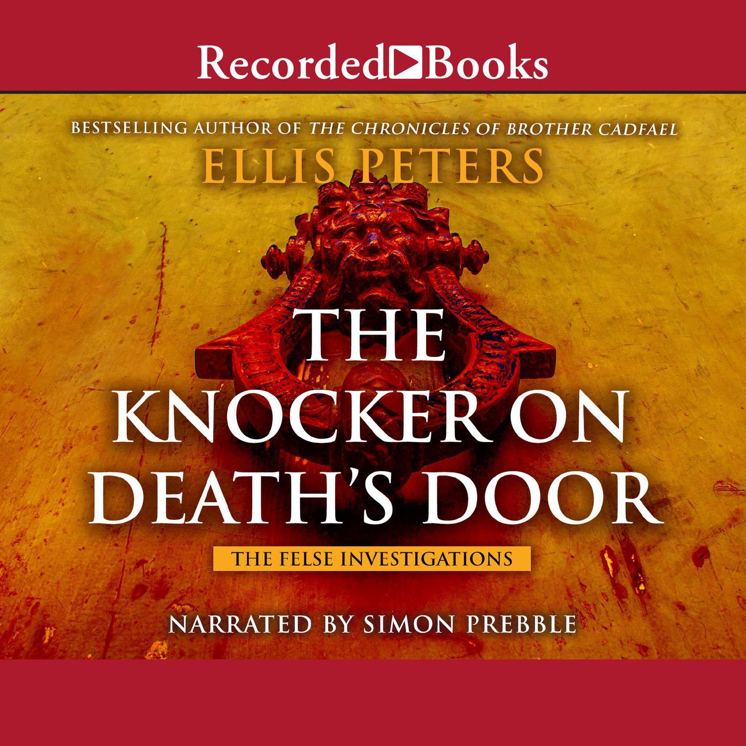 Printable The Knocker on Death's Door Audiobook Cover Art