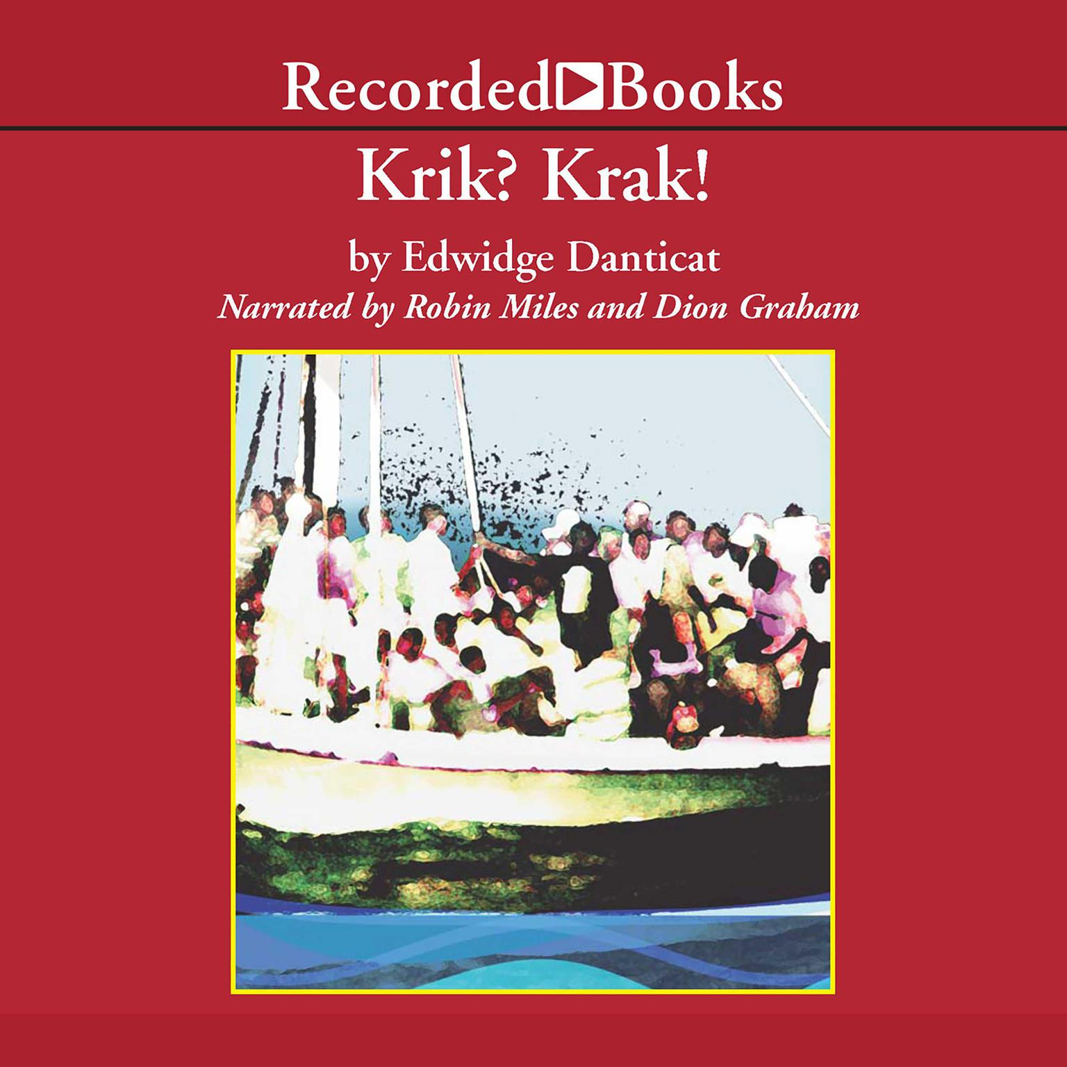 Printable Krik? Krak! Audiobook Cover Art