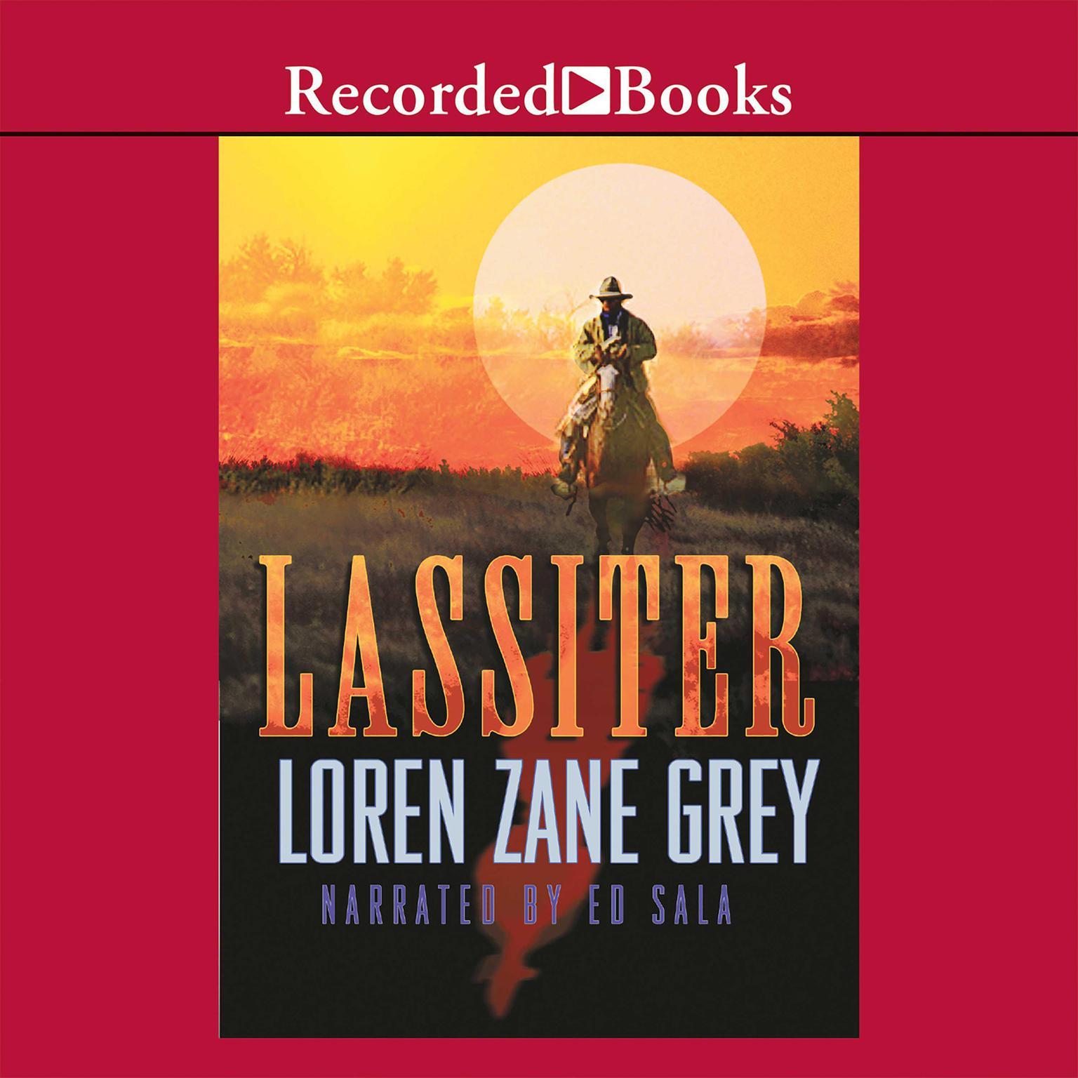 Printable Lassiter Audiobook Cover Art