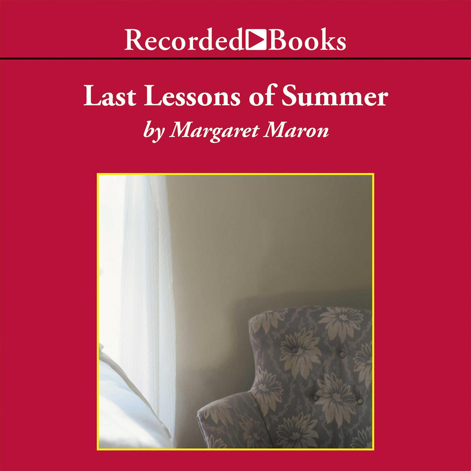 Printable Last Lessons of Summer Audiobook Cover Art
