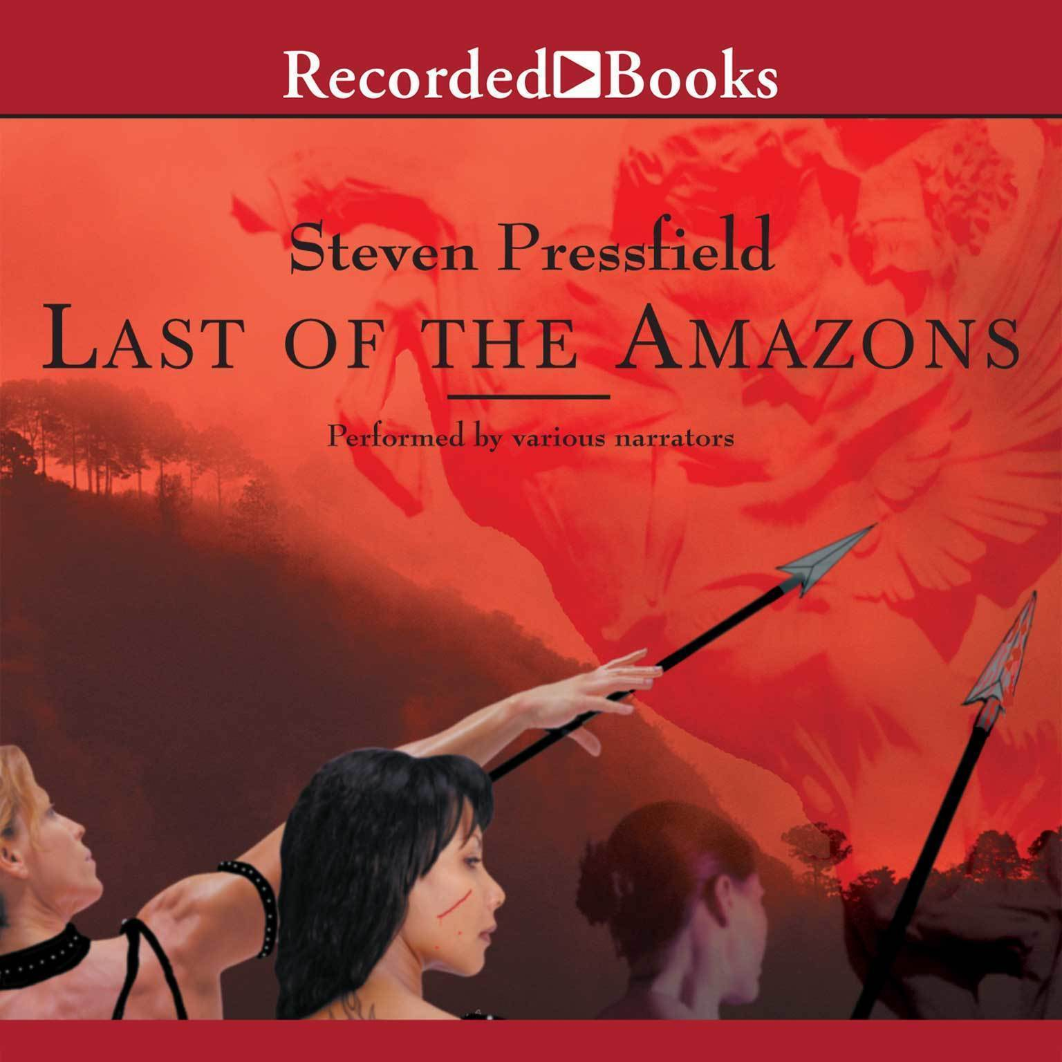 Printable Last of the Amazons Audiobook Cover Art