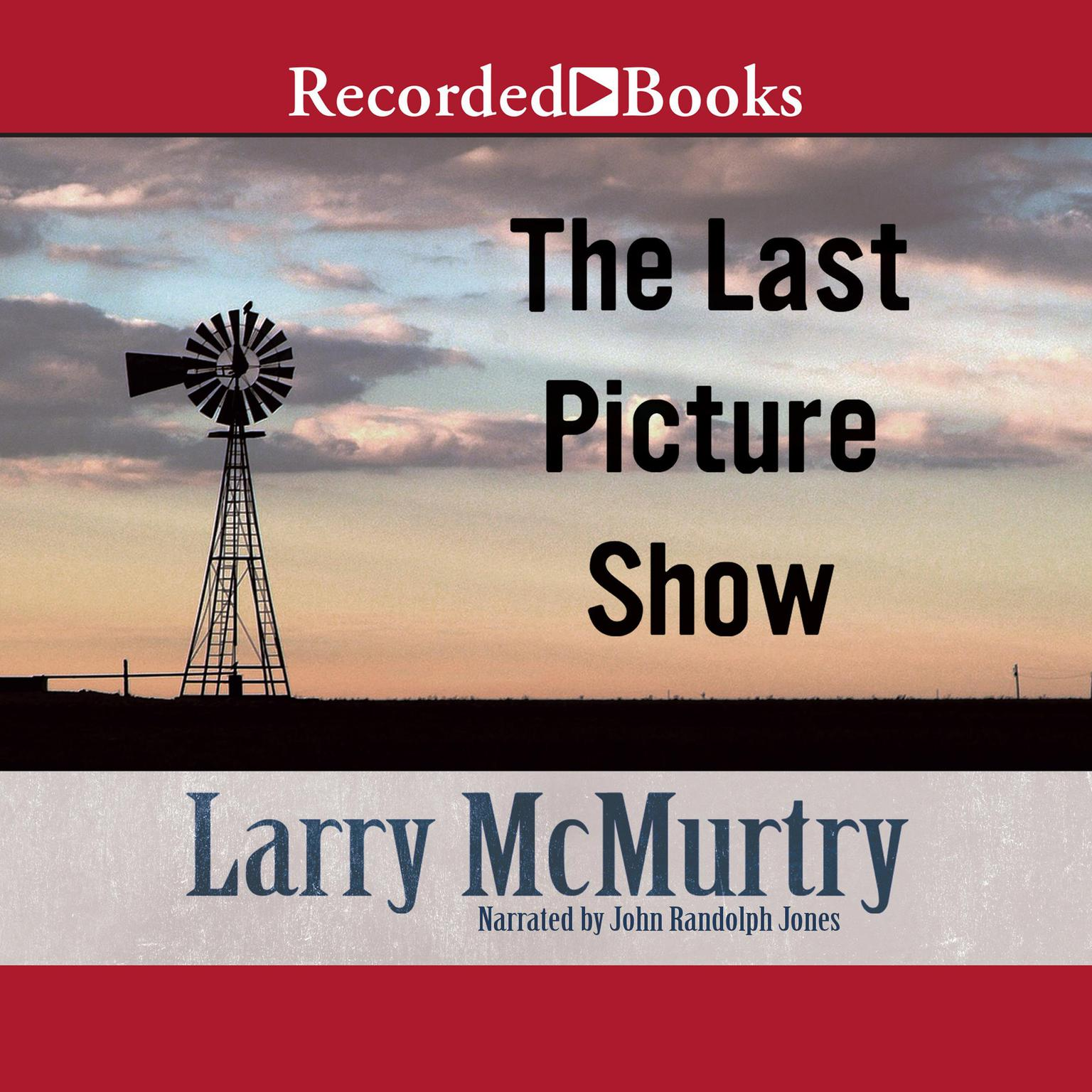 Printable The Last Picture Show Audiobook Cover Art