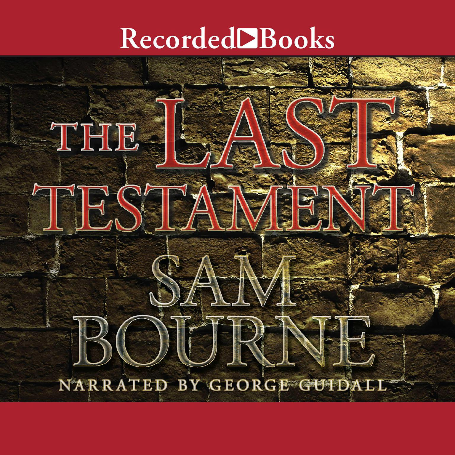 Printable The Last Testament Audiobook Cover Art