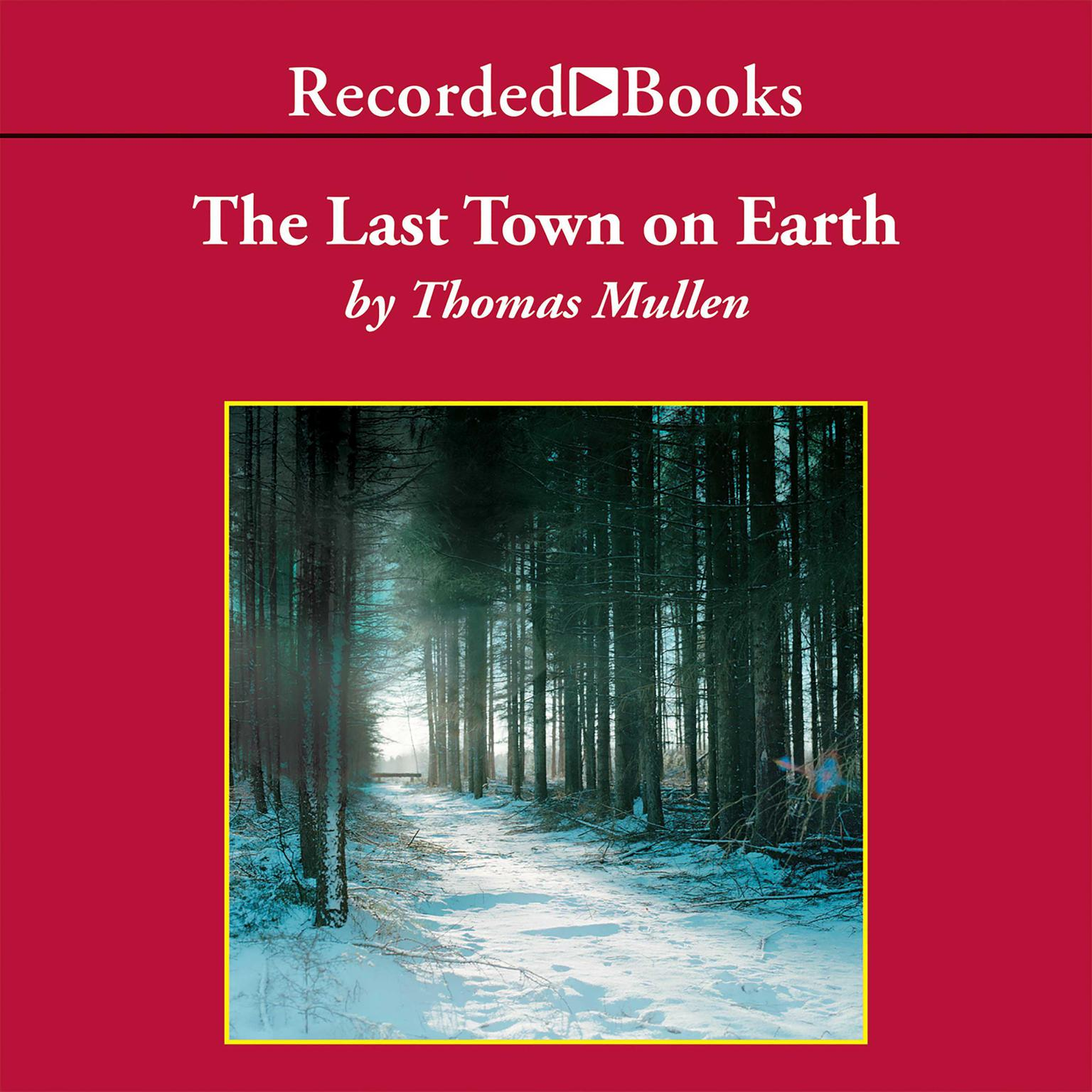 Printable The Last Town on Earth Audiobook Cover Art