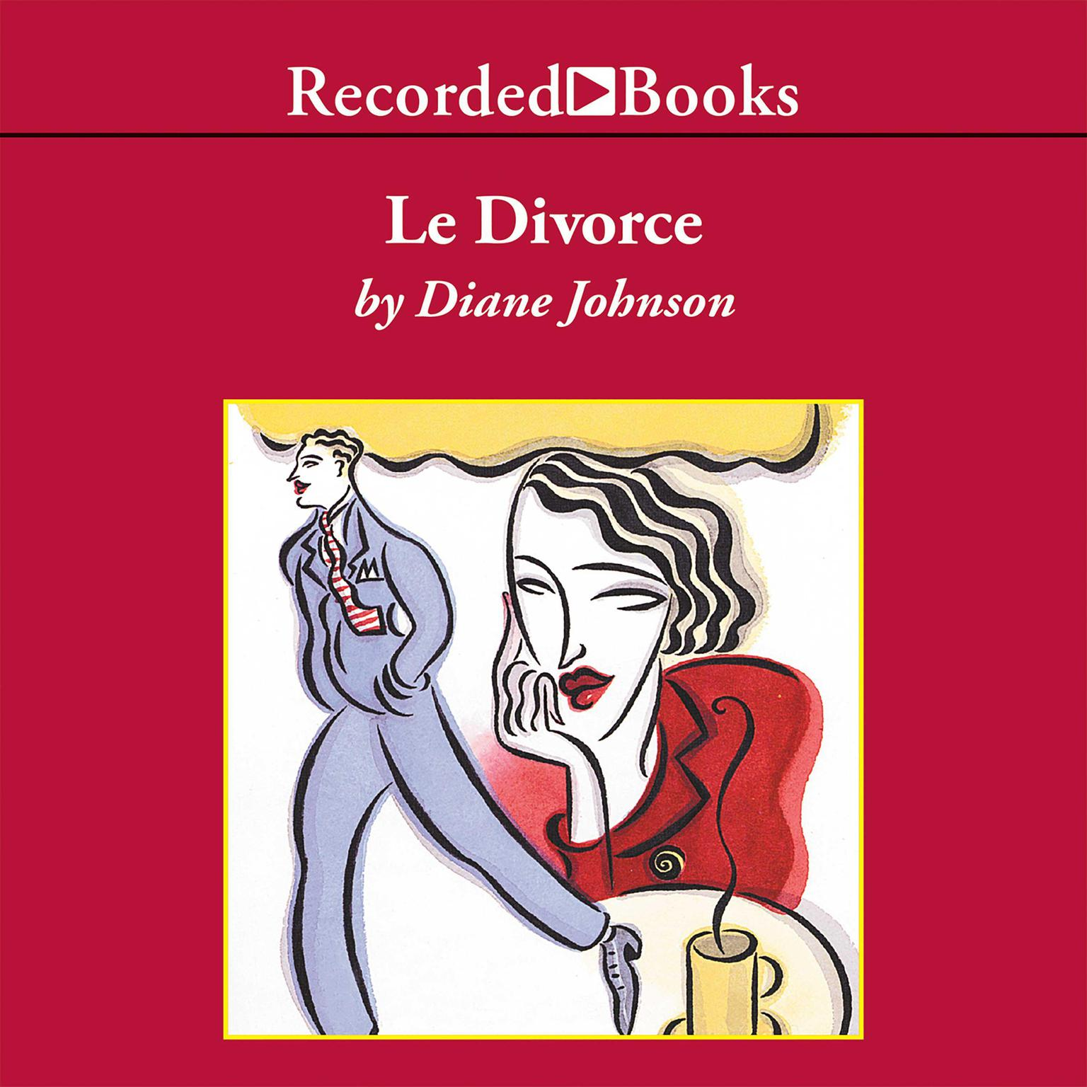 Printable Le Divorce Audiobook Cover Art