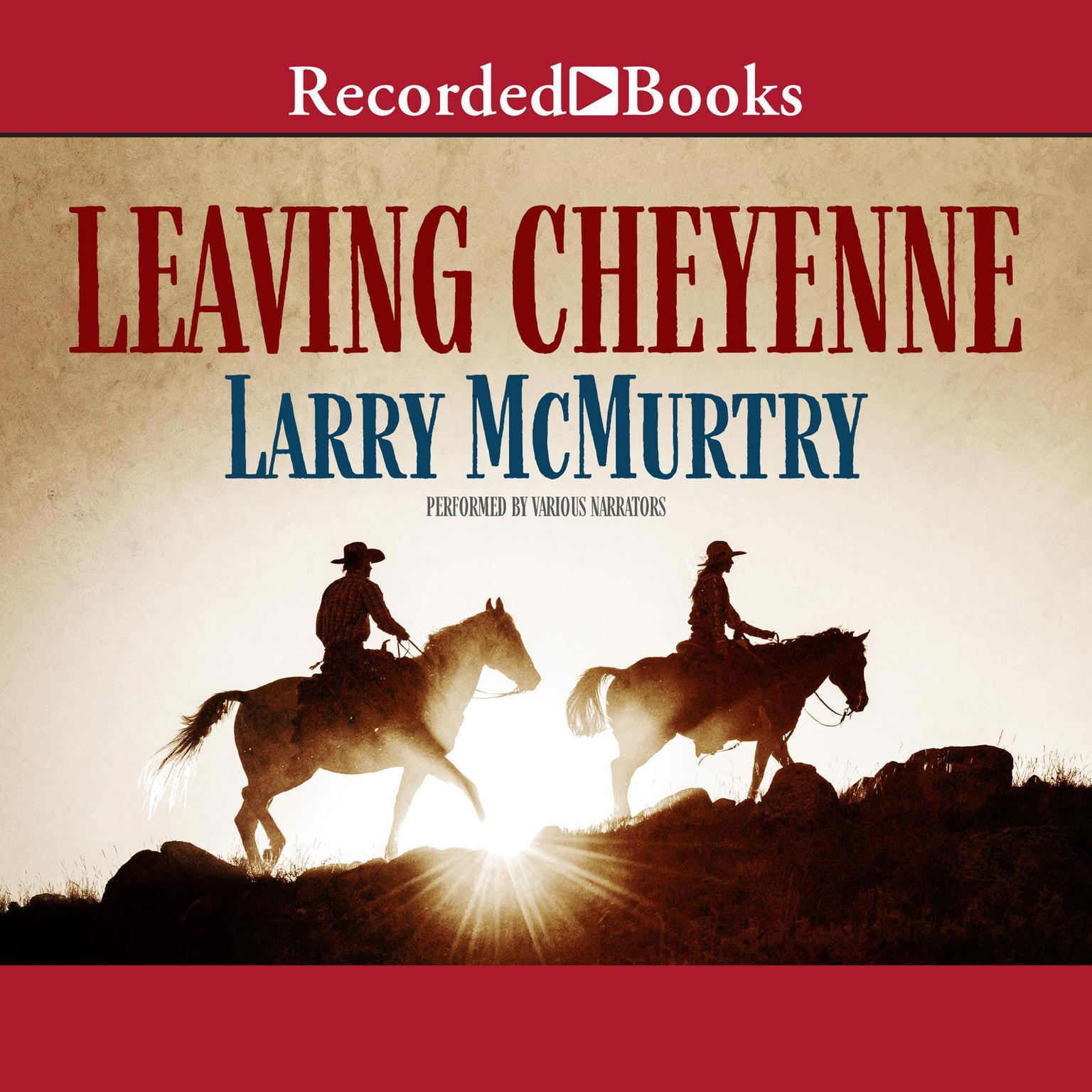 Printable Leaving Cheyenne Audiobook Cover Art