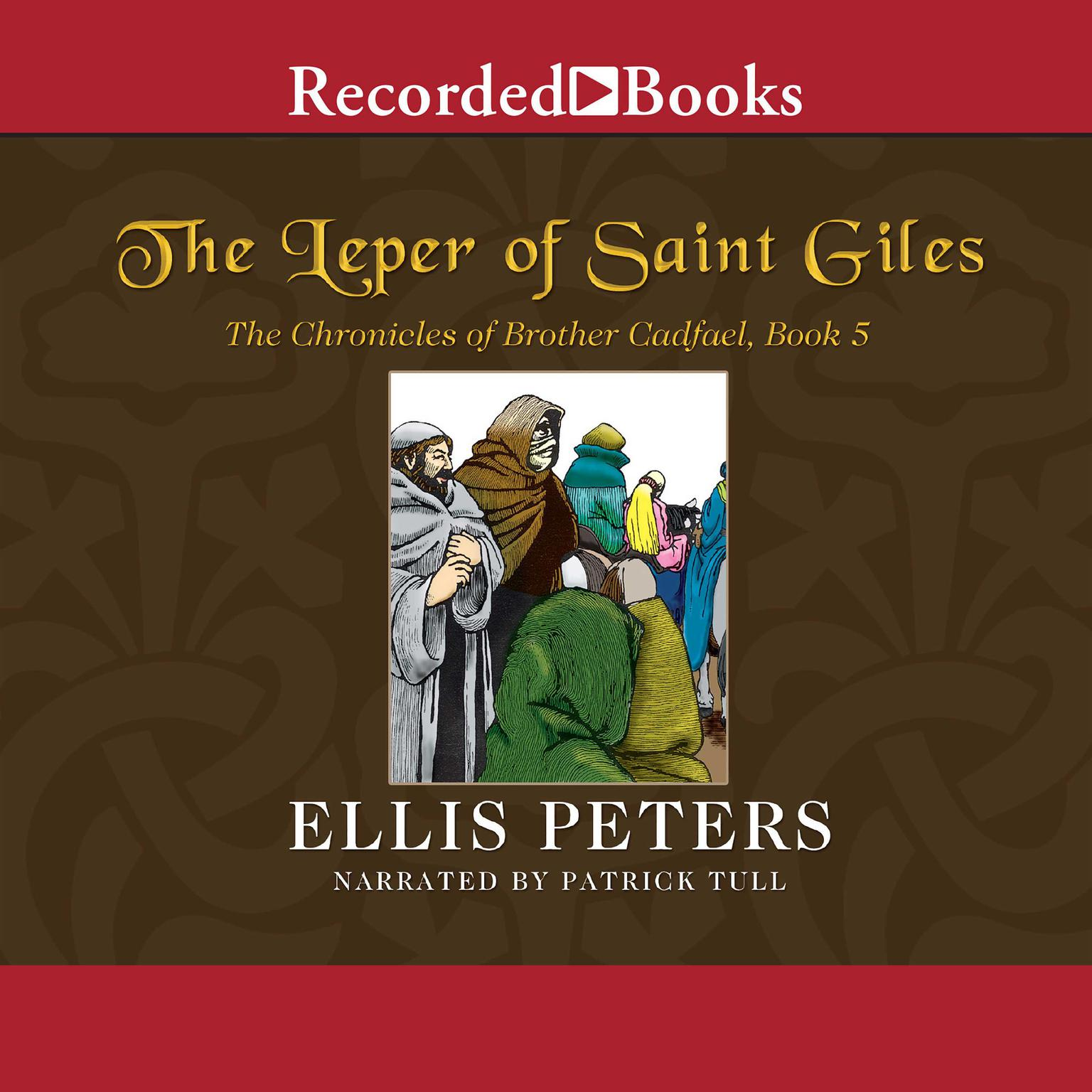 Printable The Leper of Saint Giles Audiobook Cover Art