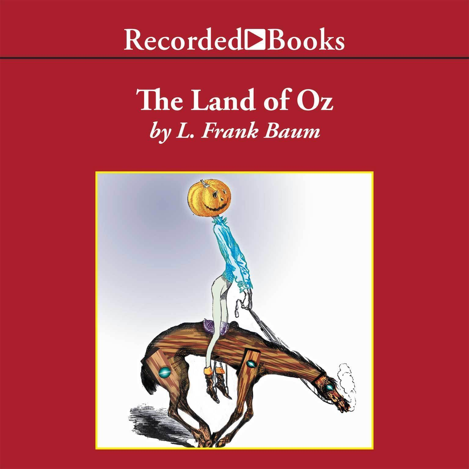 Printable The Land of Oz Audiobook Cover Art