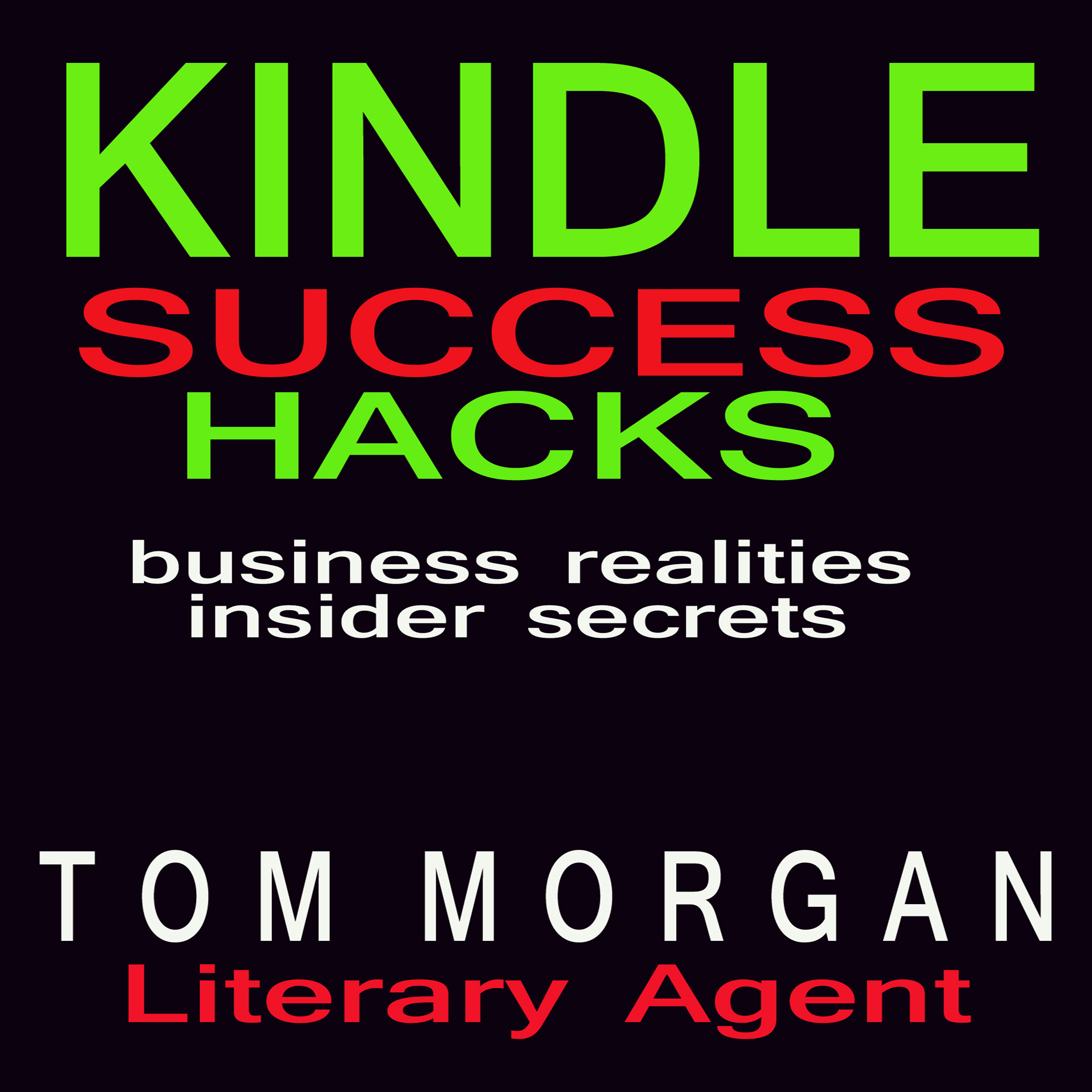 Printable Kindle Success Hacks: Business Realities and Insider Secrets Audiobook Cover Art