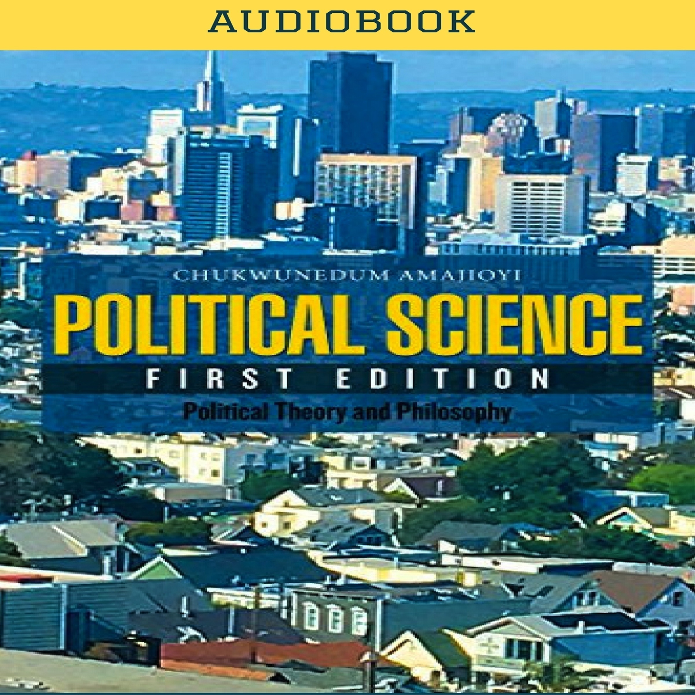 Printable Political Science Audiobook Cover Art