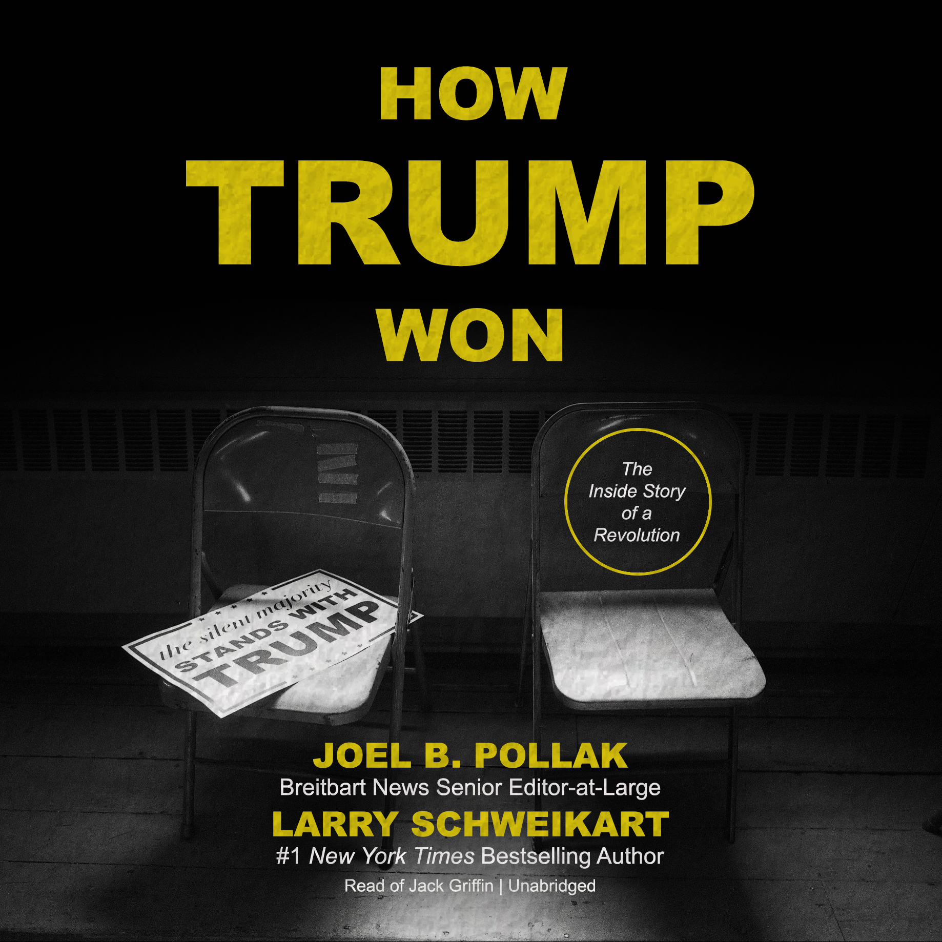 Printable How Trump Won: The Inside Story of a Revolution Audiobook Cover Art