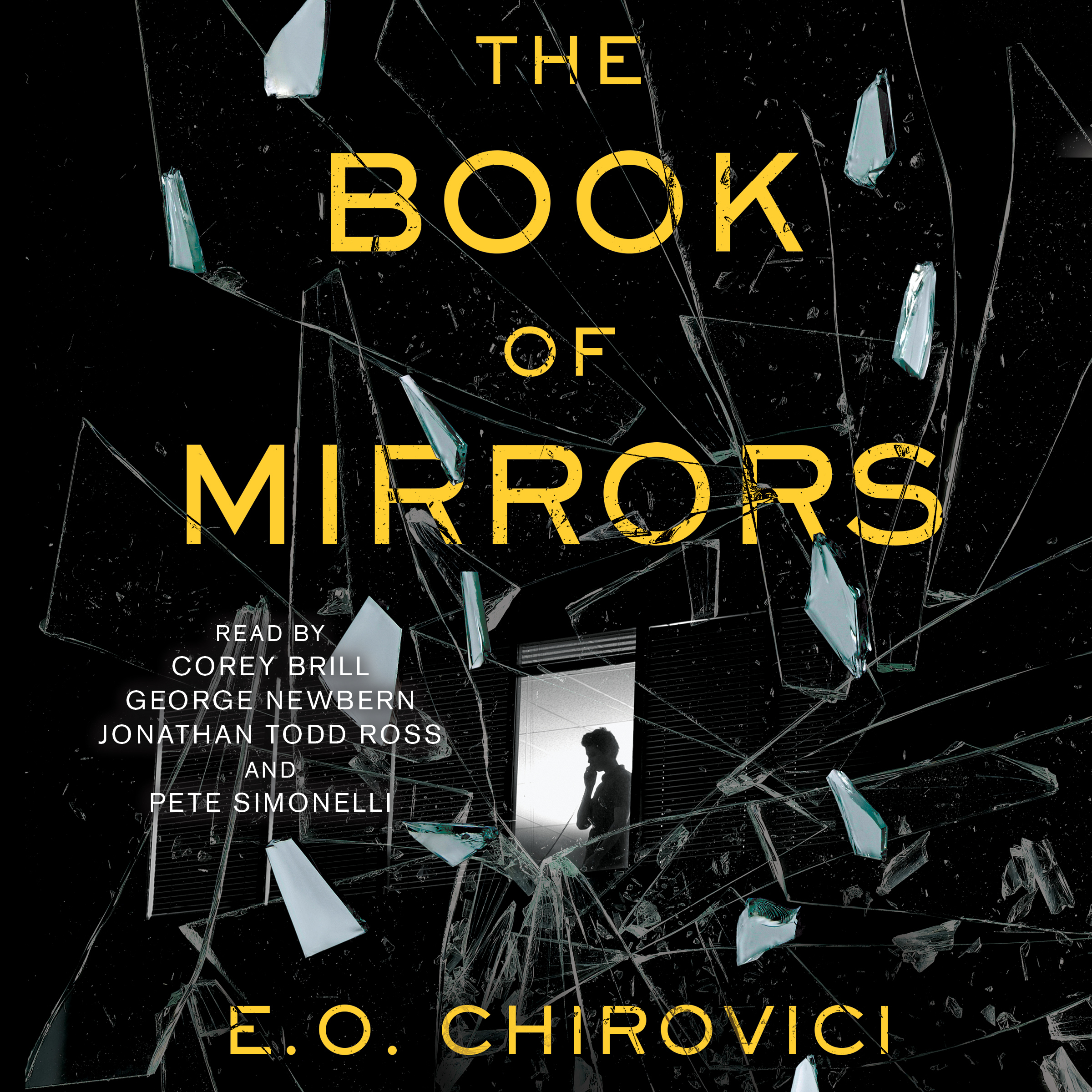 Printable The Book of Mirrors: A Novel Audiobook Cover Art
