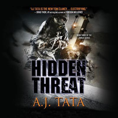 Hidden Threat Audiobook, by A. J. Tata
