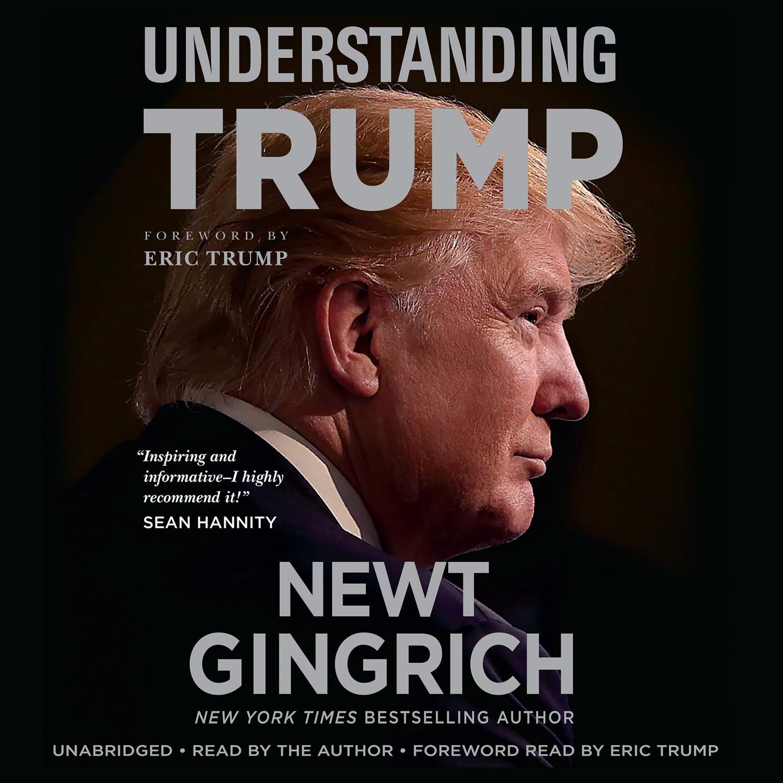 Printable Understanding Trump Audiobook Cover Art