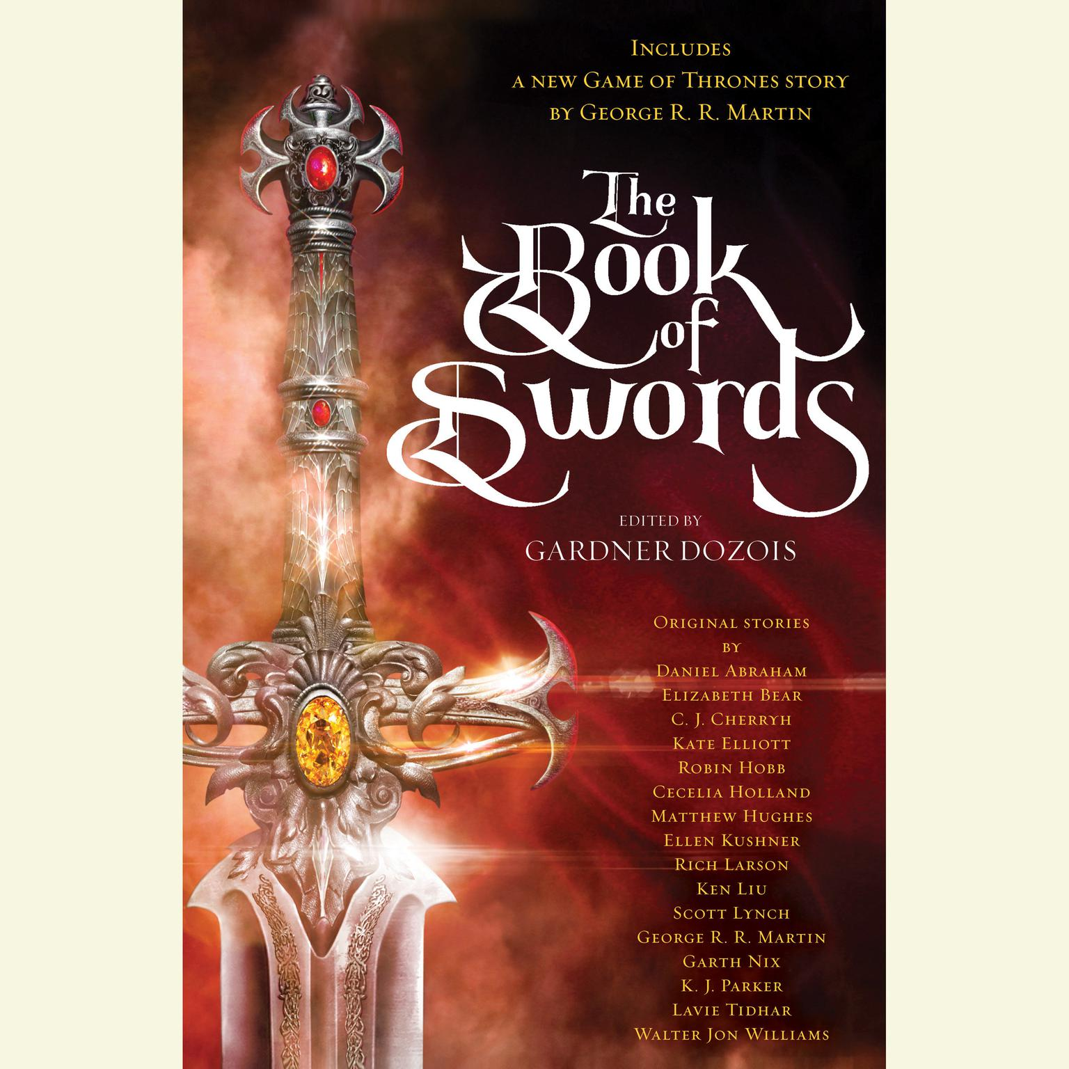 Printable The Book of Swords Audiobook Cover Art