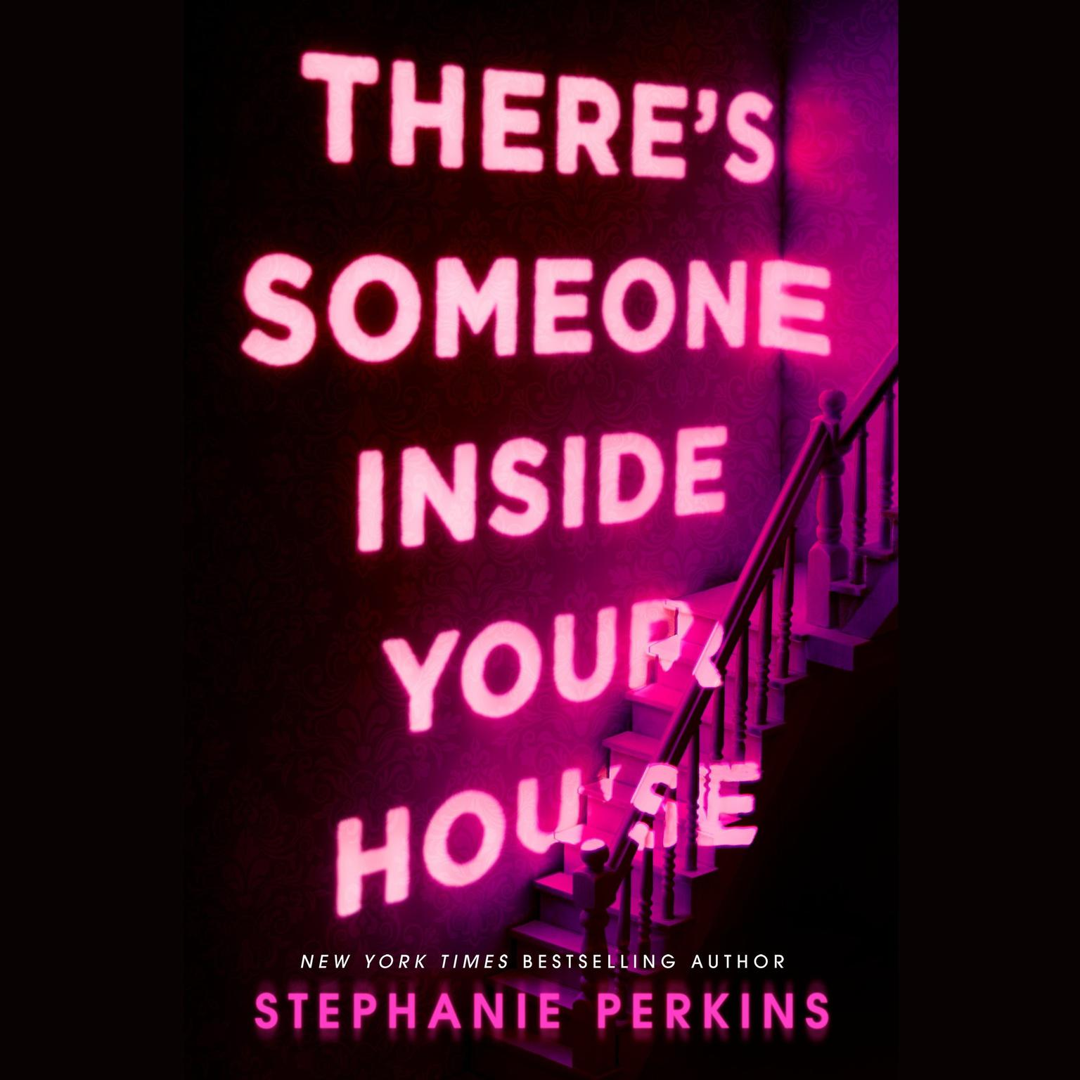 Printable There's Someone Inside Your House Audiobook Cover Art