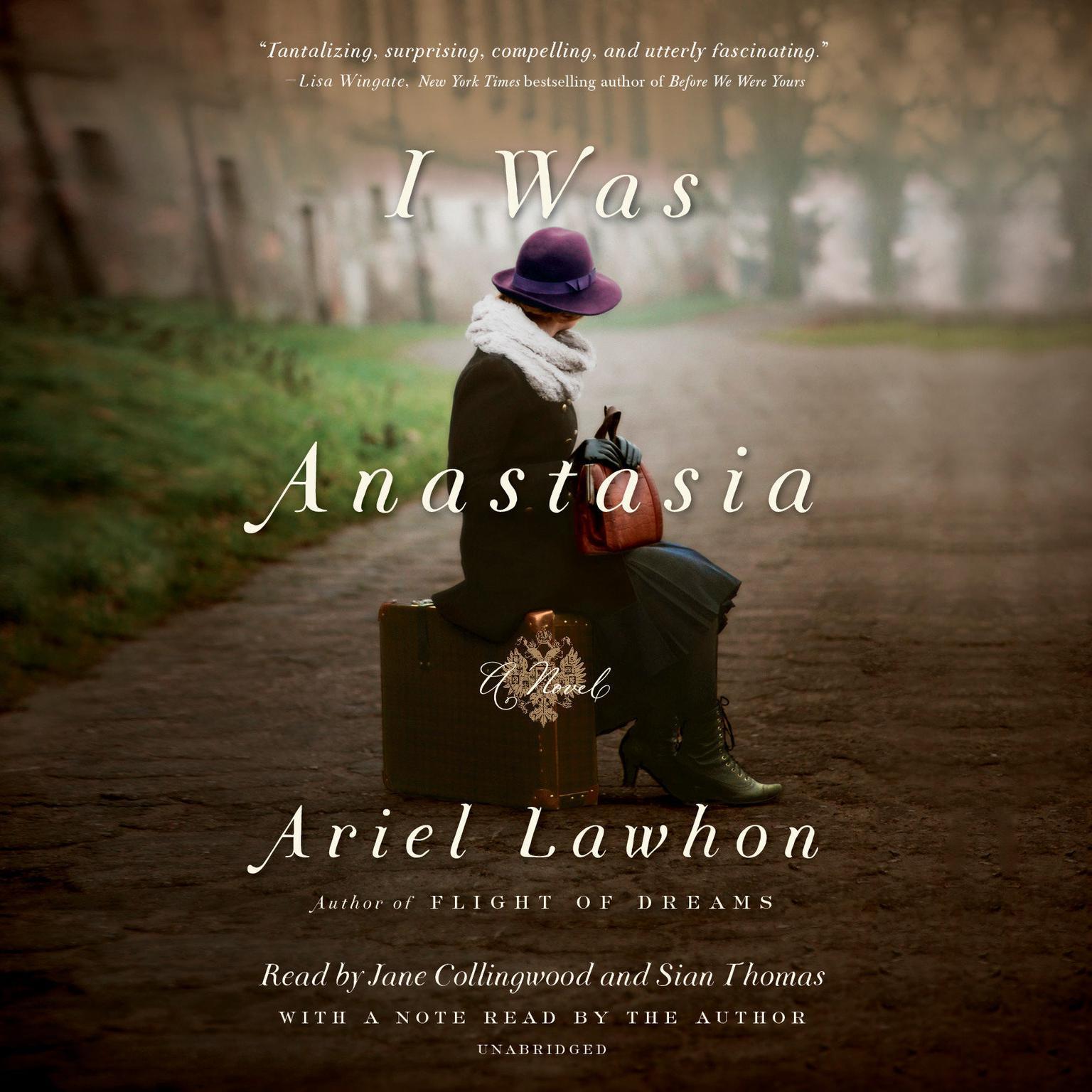 Printable I Was Anastasia: A Novel Audiobook Cover Art