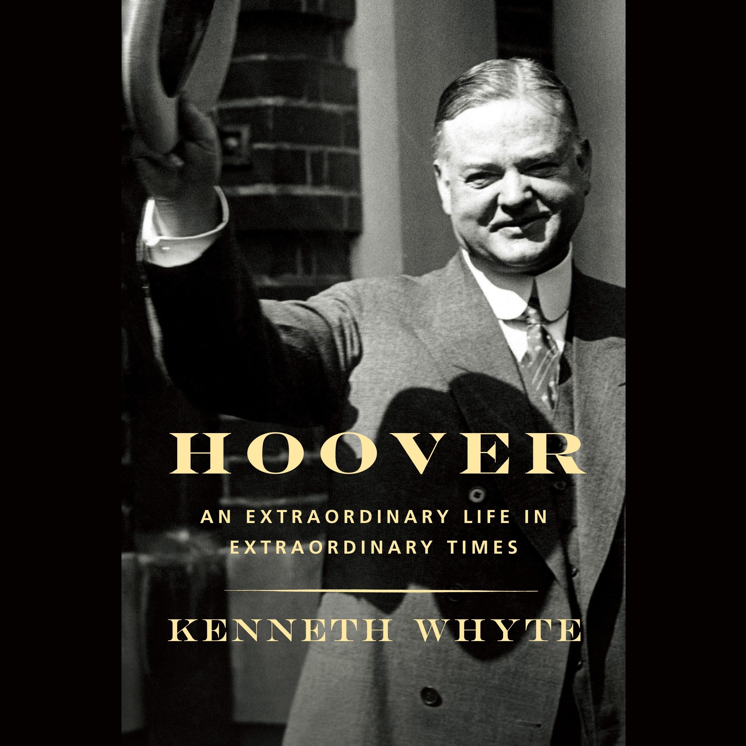 Printable Hoover: An Extraordinary Life in Extraordinary Times Audiobook Cover Art