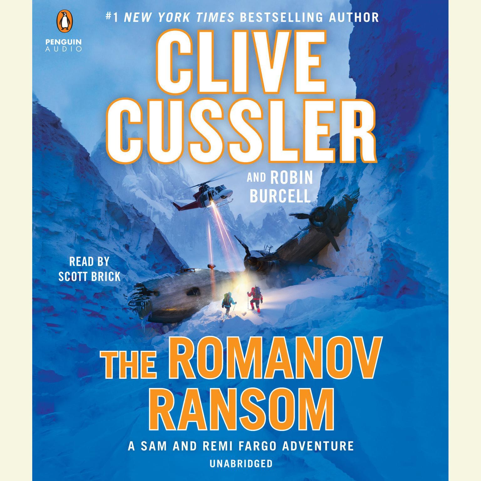 Printable The Romanov Ransom Audiobook Cover Art
