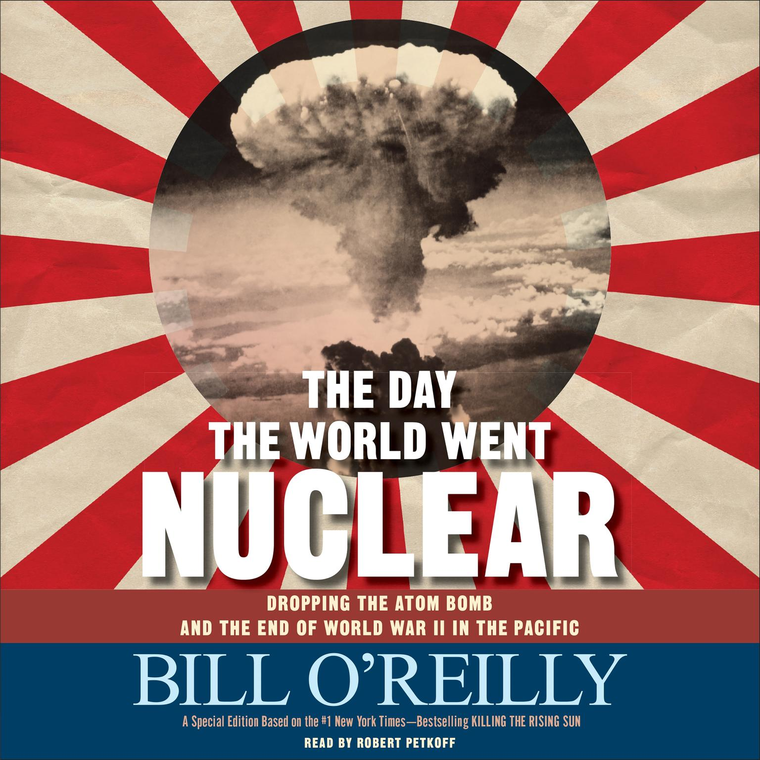 Printable The Day the World Went Nuclear: Dropping the Atom Bomb and the End of World War II in the Pacific Audiobook Cover Art