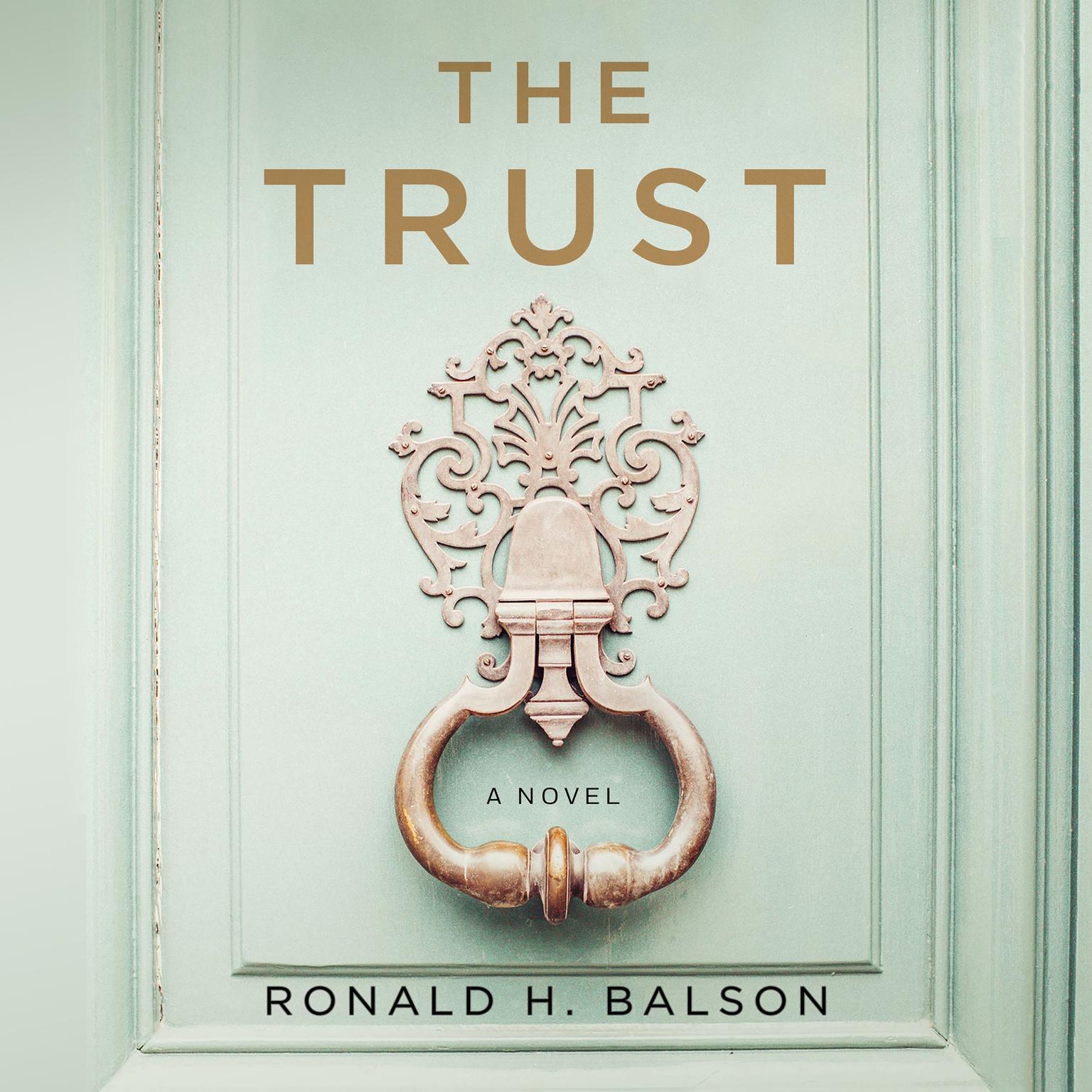 Printable The Trust: A Novel Audiobook Cover Art