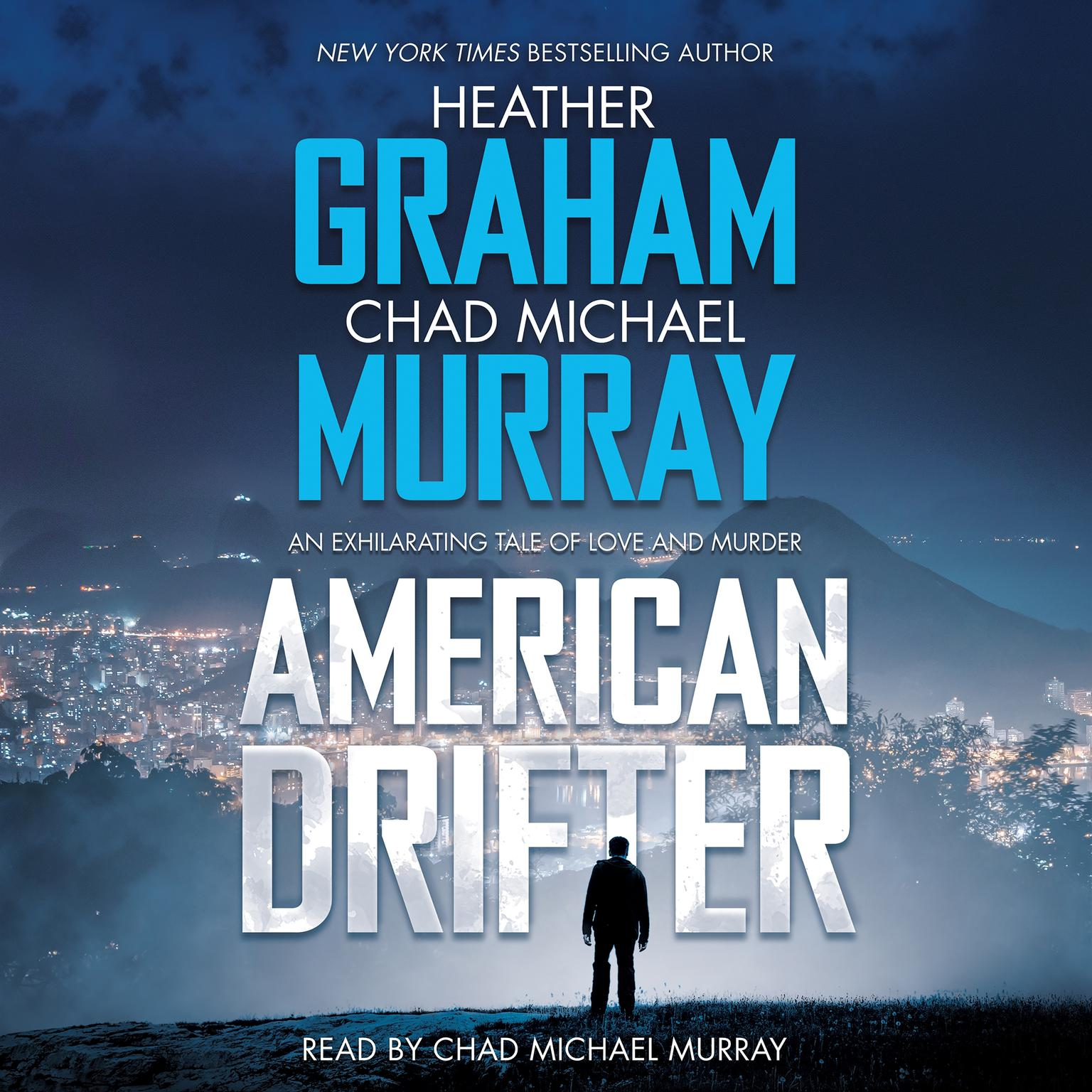 Printable American Drifter: A Thriller Audiobook Cover Art