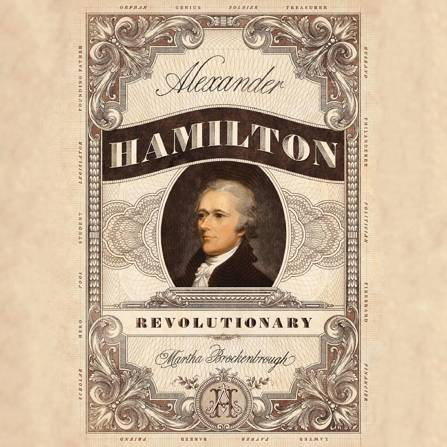 Printable Alexander Hamilton, Revolutionary Audiobook Cover Art