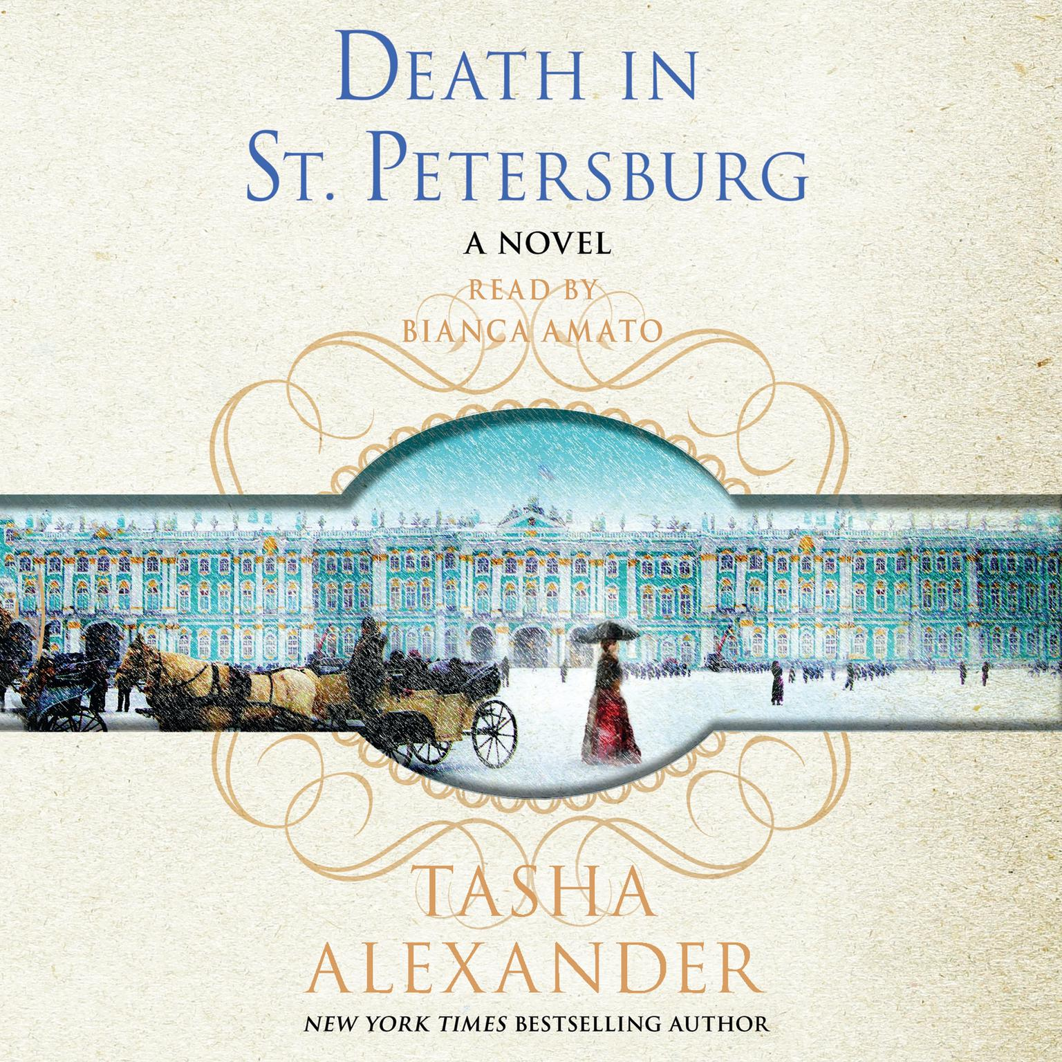 Printable Death in St. Petersburg: A Lady Emily Mystery Audiobook Cover Art