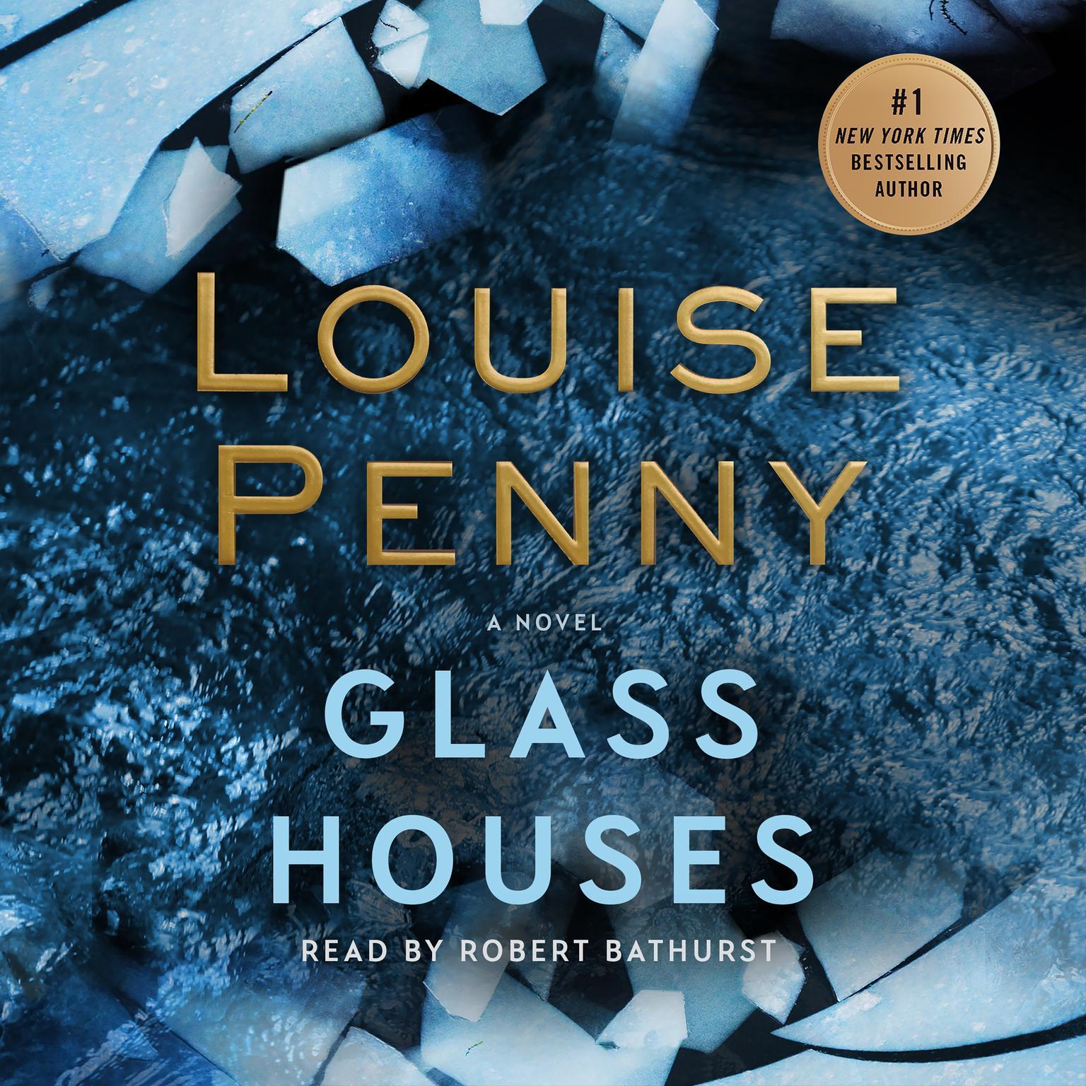 Printable Glass Houses: A Novel Audiobook Cover Art